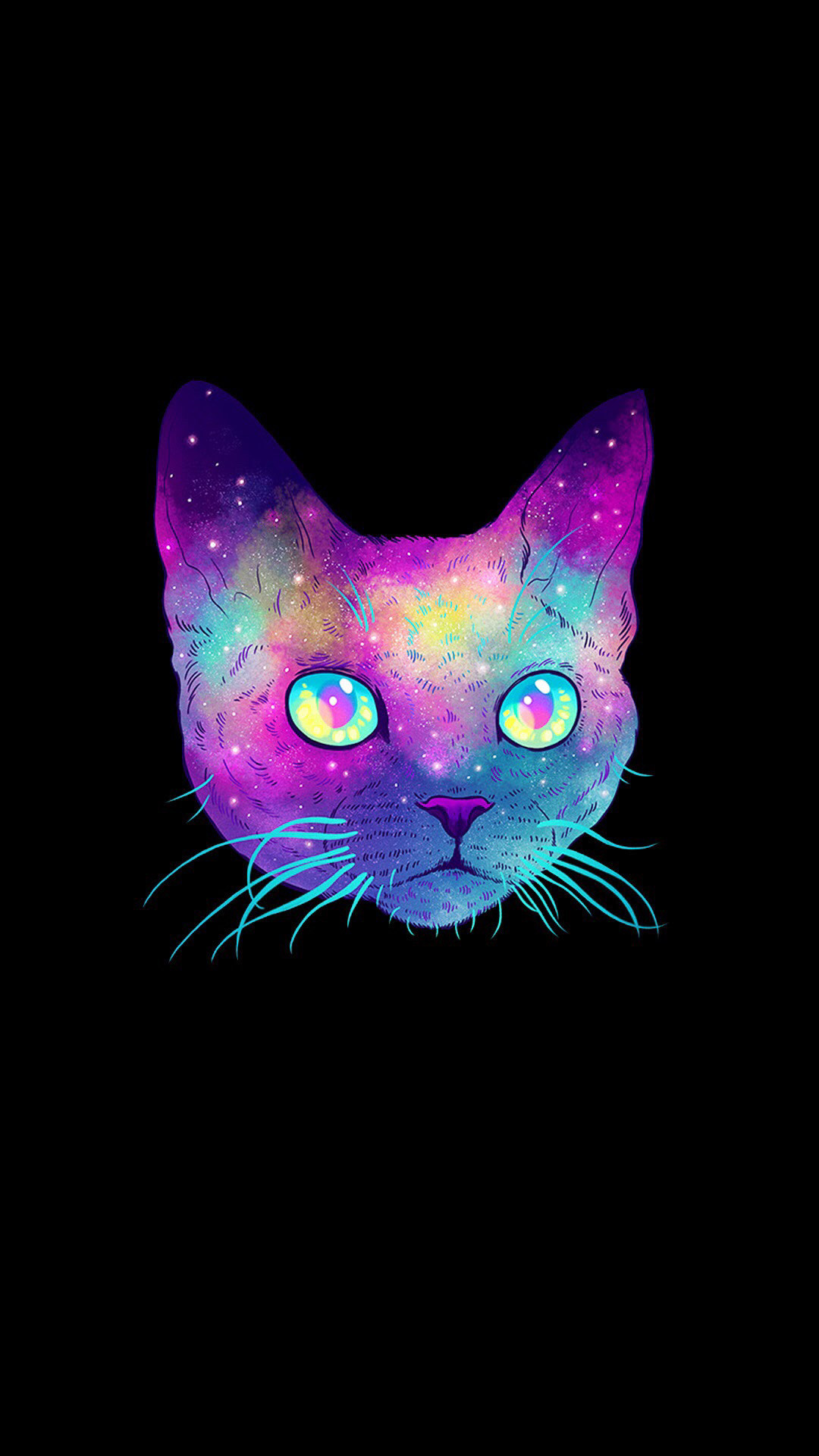 Artwork · Cat WallpaperWallpaper BackgroundsMinneapolisPhone Wallpapers GalaxiesIllustrationsGalaxy …