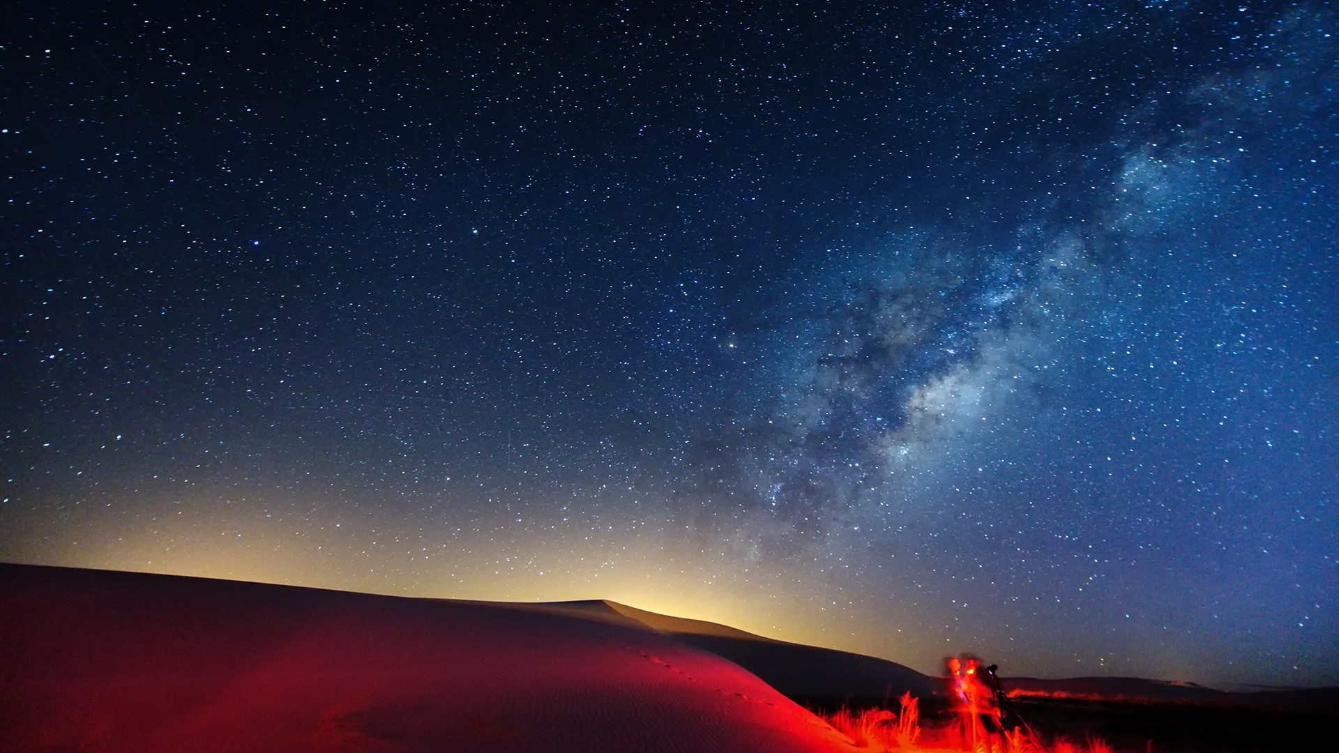 landscape, Sky, Starry Night, Milky Way Wallpapers HD / Desktop and Mobile  Backgrounds