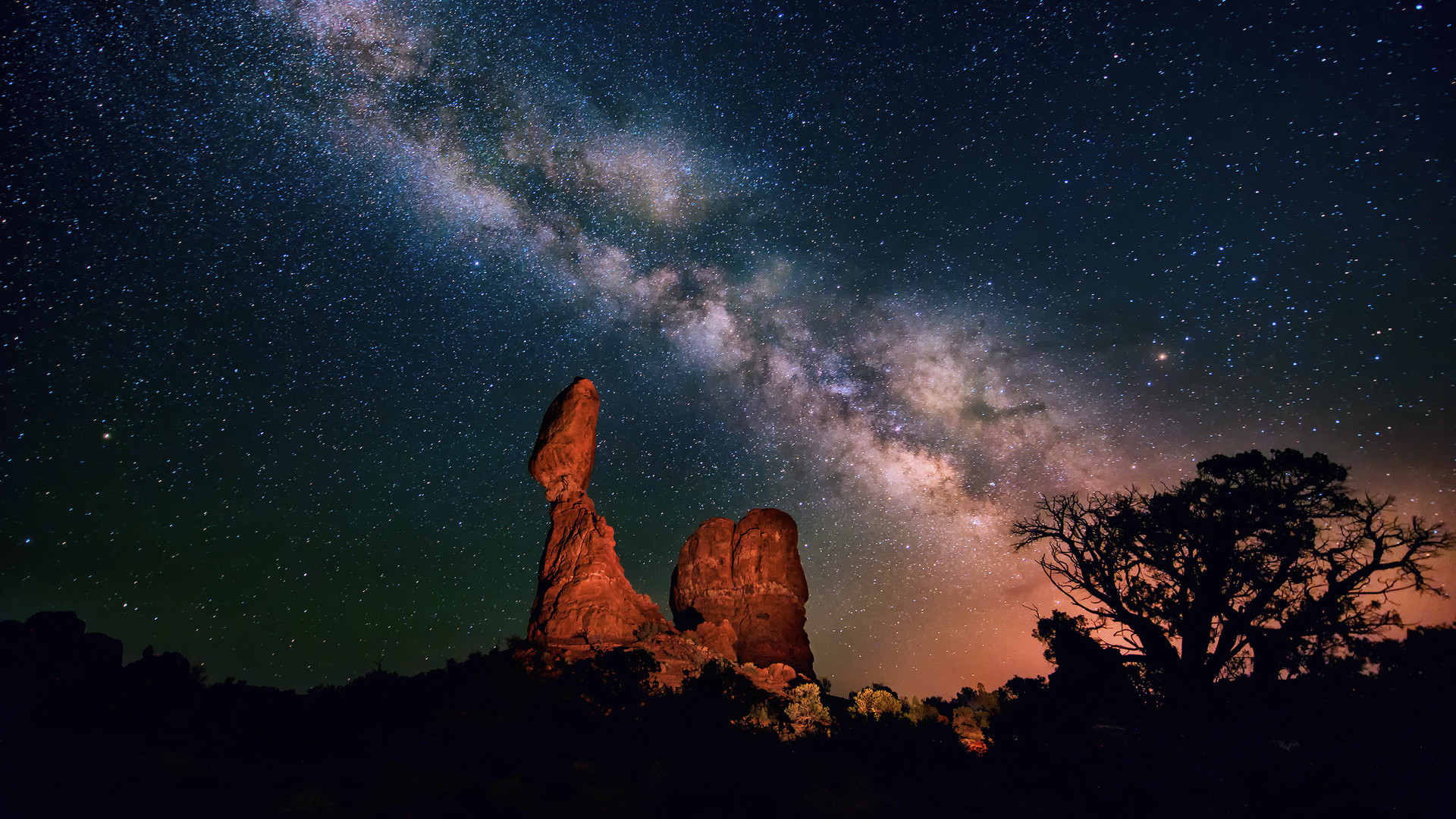 Download Moon, Clouds, Stars, Night, Sky Wallpapers for .