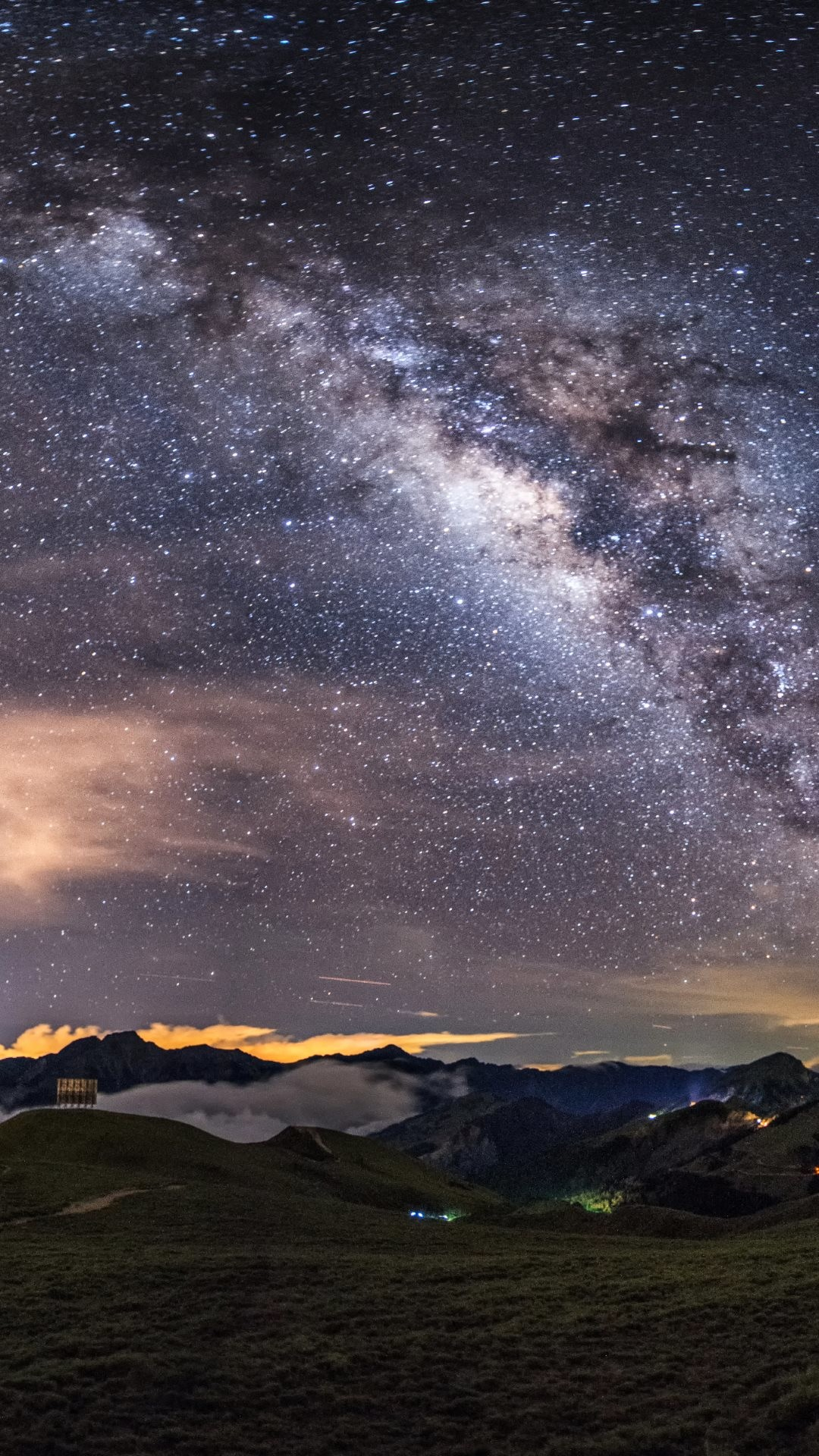 Milky Way on the Night Sky HD Wallpapers. 4K Wallpapers