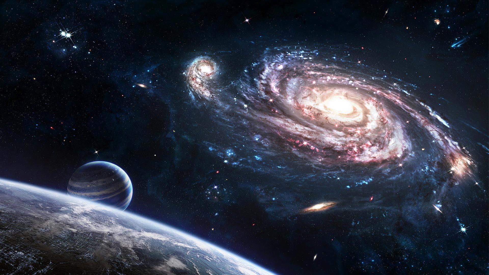 Milkyway Earth HD Wallpaper. « »