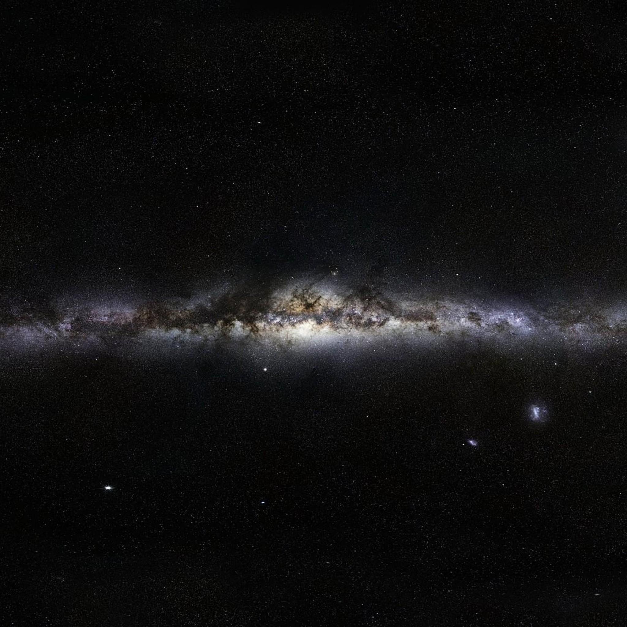 Preview wallpaper milky way, stars, space, nebula 2048×2048