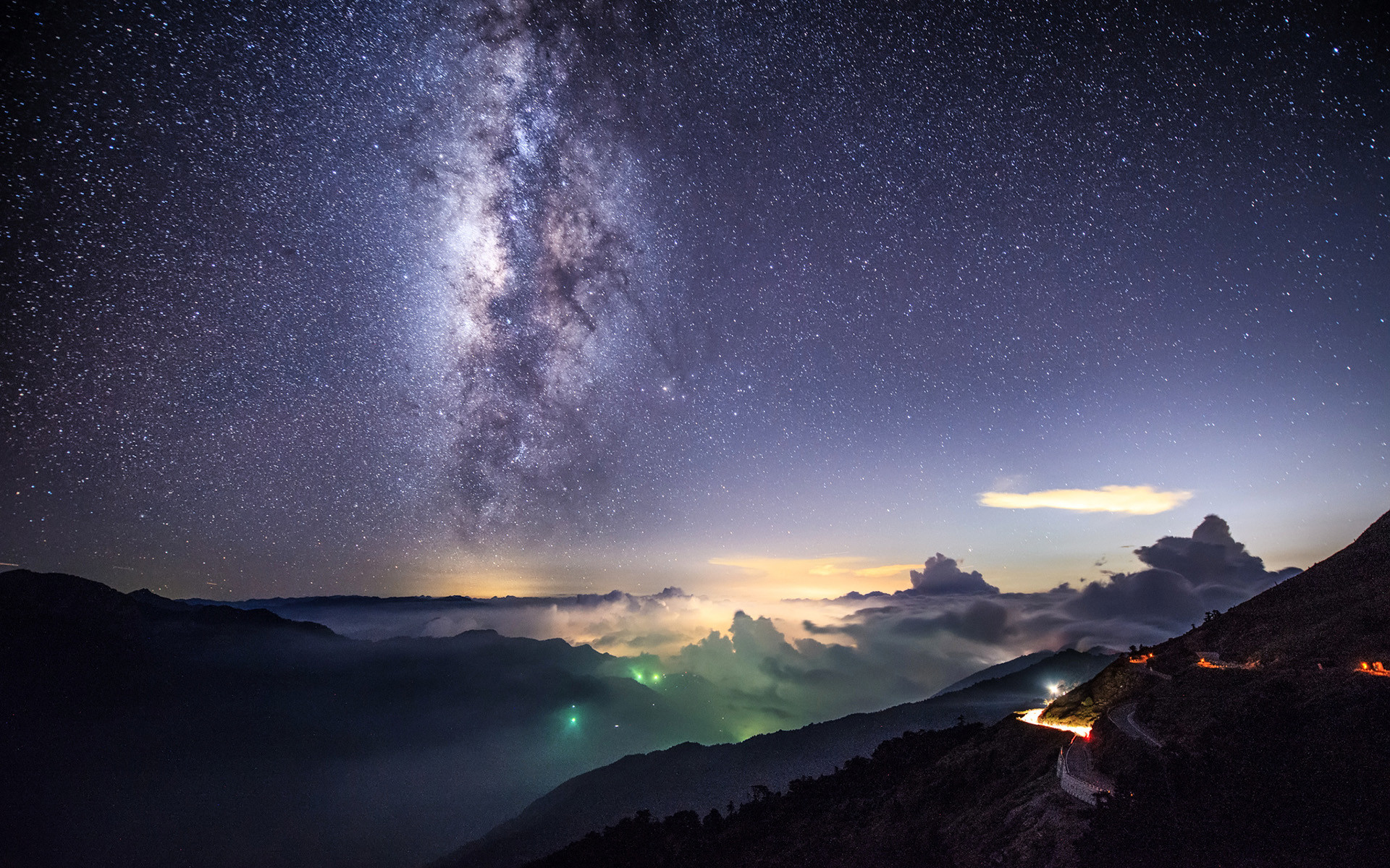 Sci Fi – Milky Way Star Wallpaper