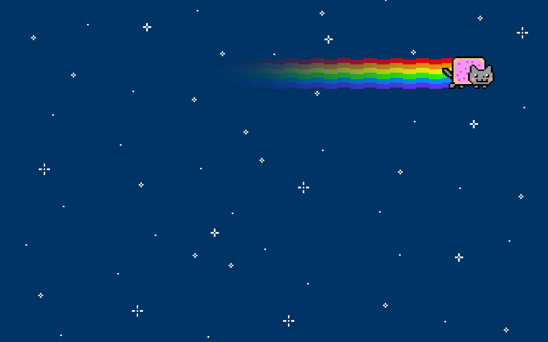 Outer space cats rainbows nyan cat wallpaper | | 21786 |  WallpaperUP