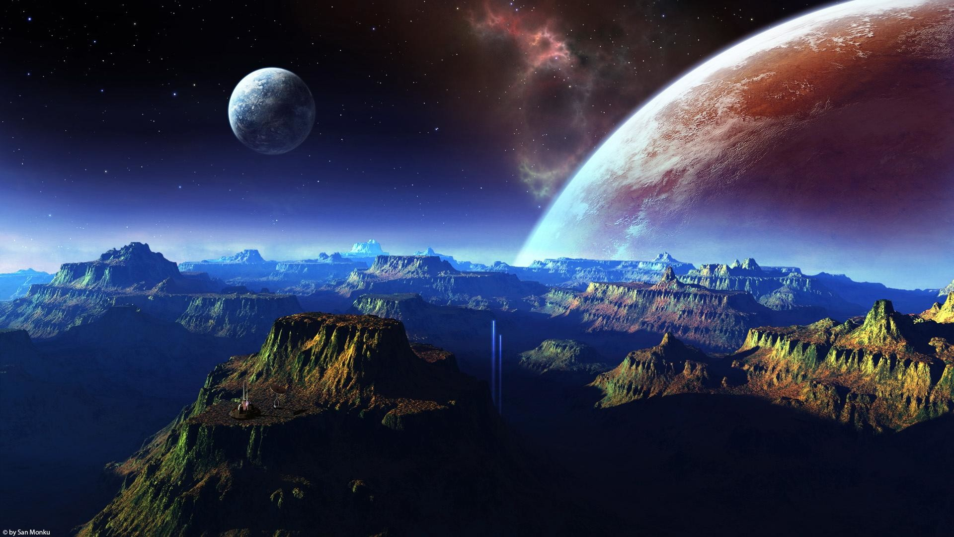 Earth Space HD Wallpaper (page 3) – Pics about space