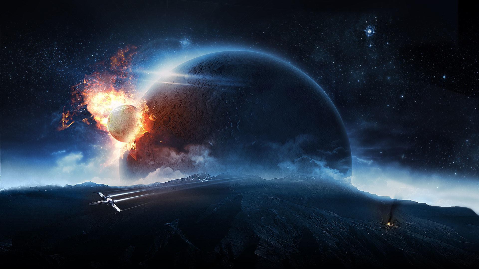 High Resolution Space Wallpaper