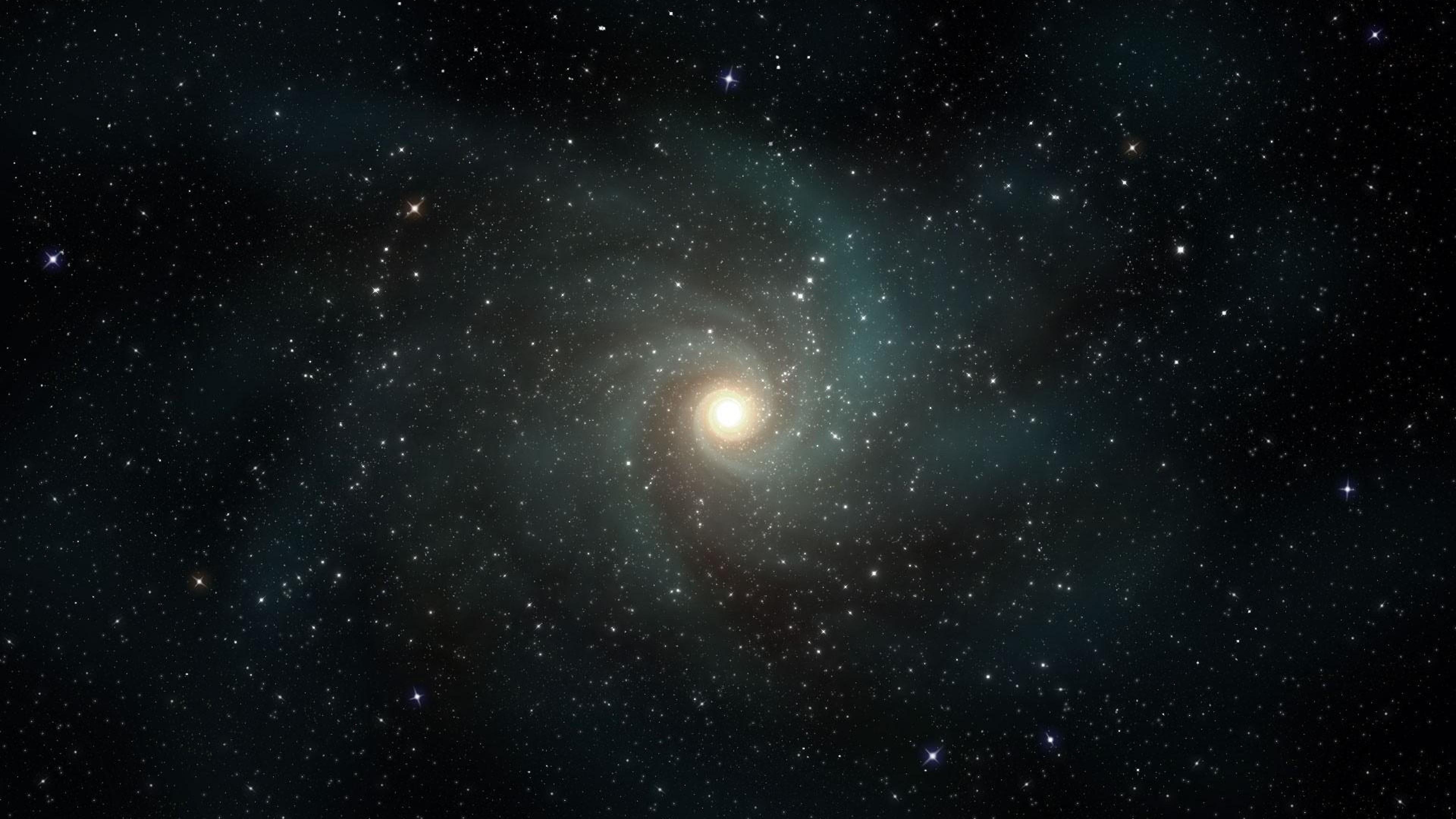 Stars, Galaxies, Rotation, Universe Wallpaper, Background 4K Ultra HD .
