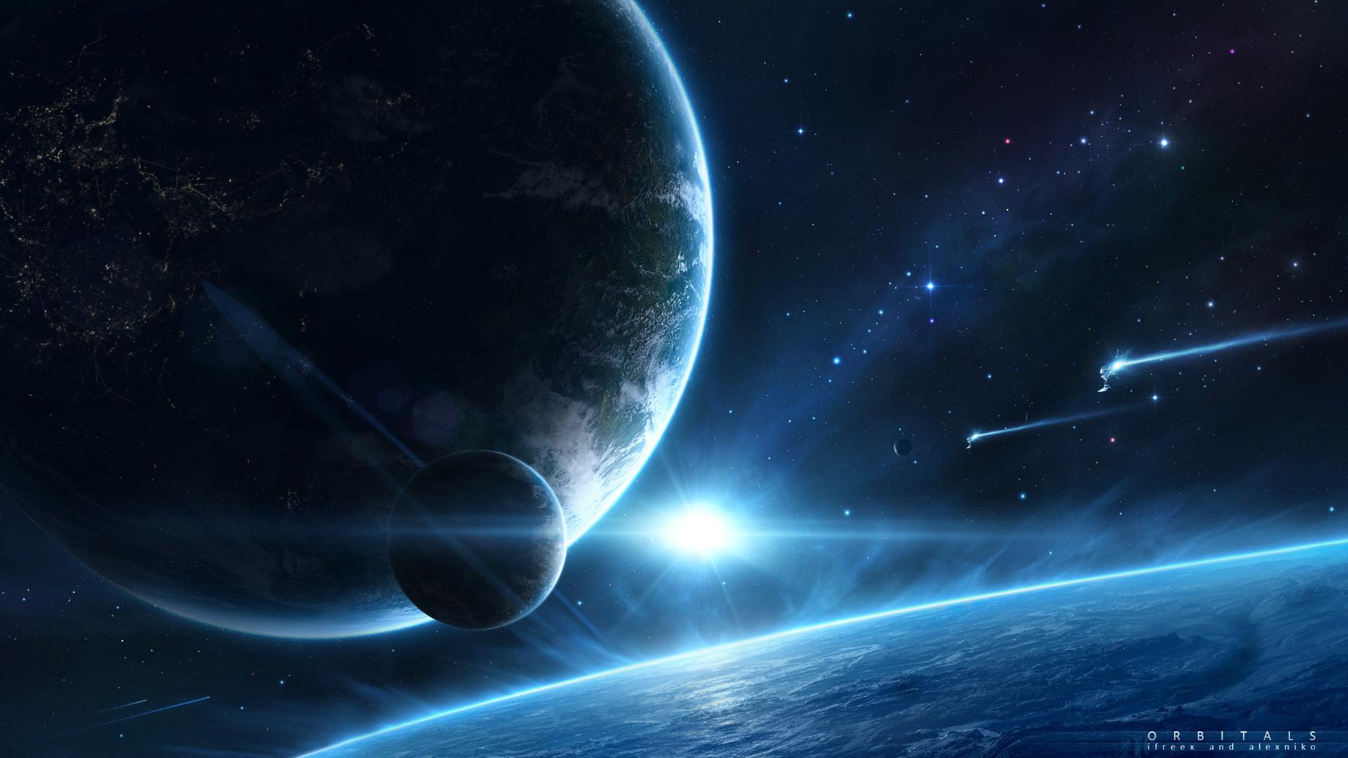 Earth from <b>Space Wallpaper 1920×1080</b> – WallpaperSafari