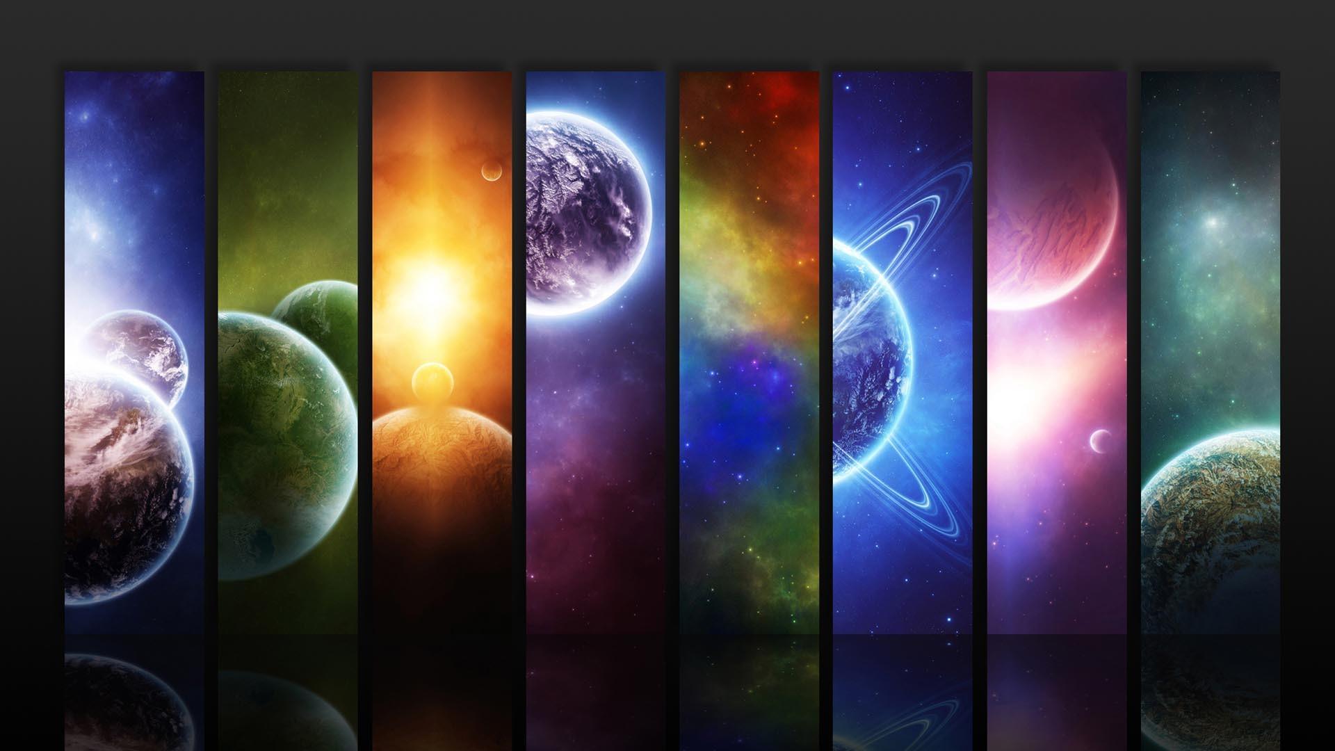 Space Seasons · Space Rainbow