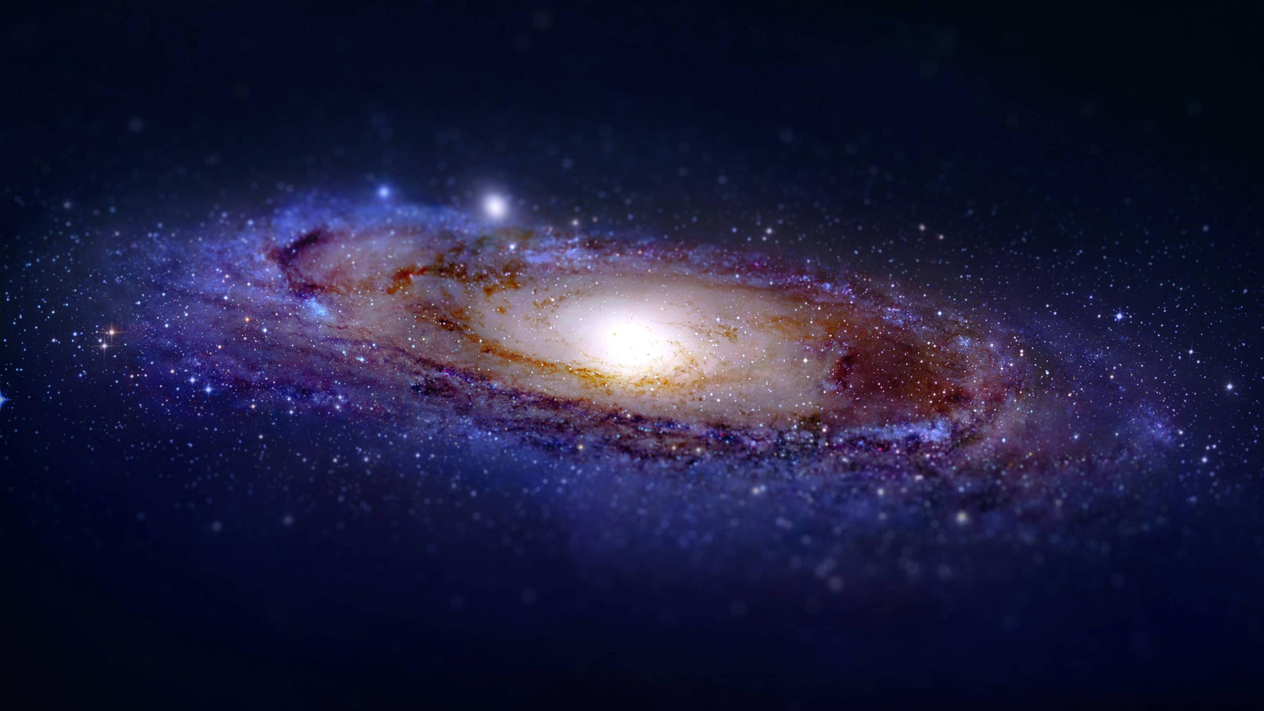 Tilt-shifted Andromeda [2560 x 1440] …