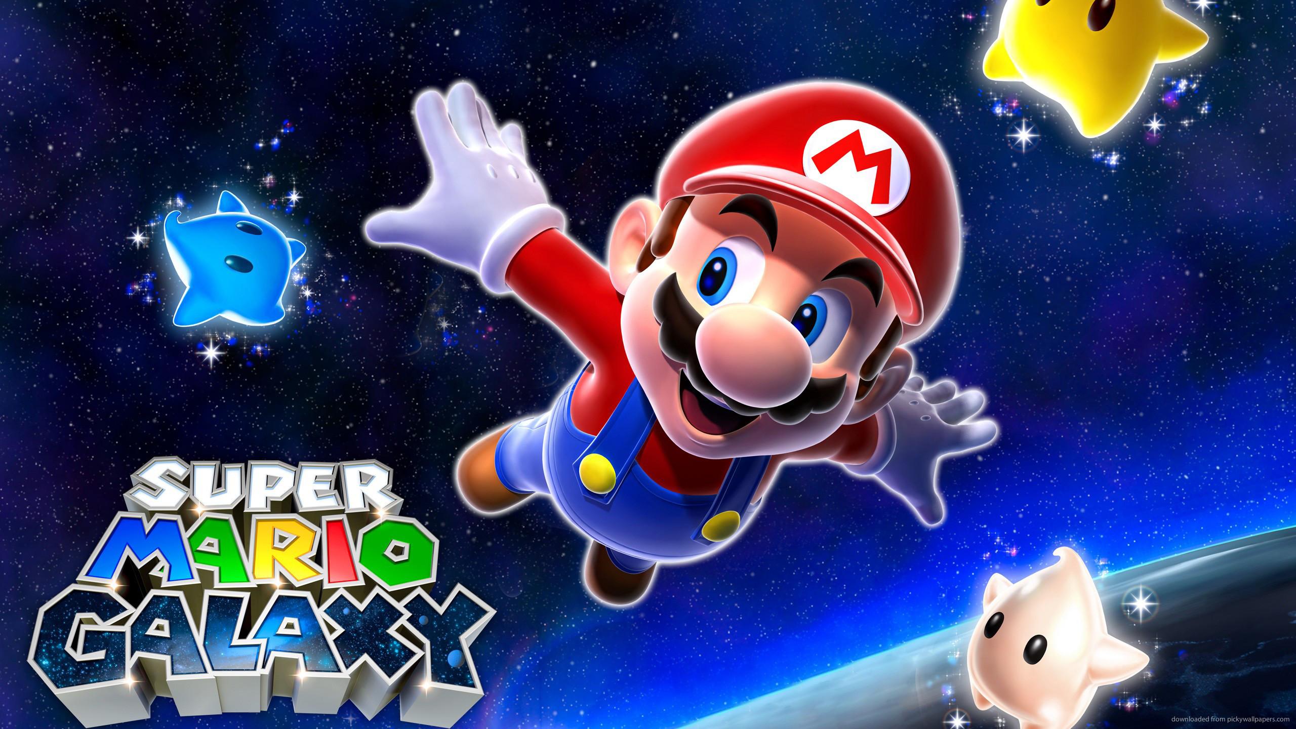 Super Mario Galaxy for 2560×1440