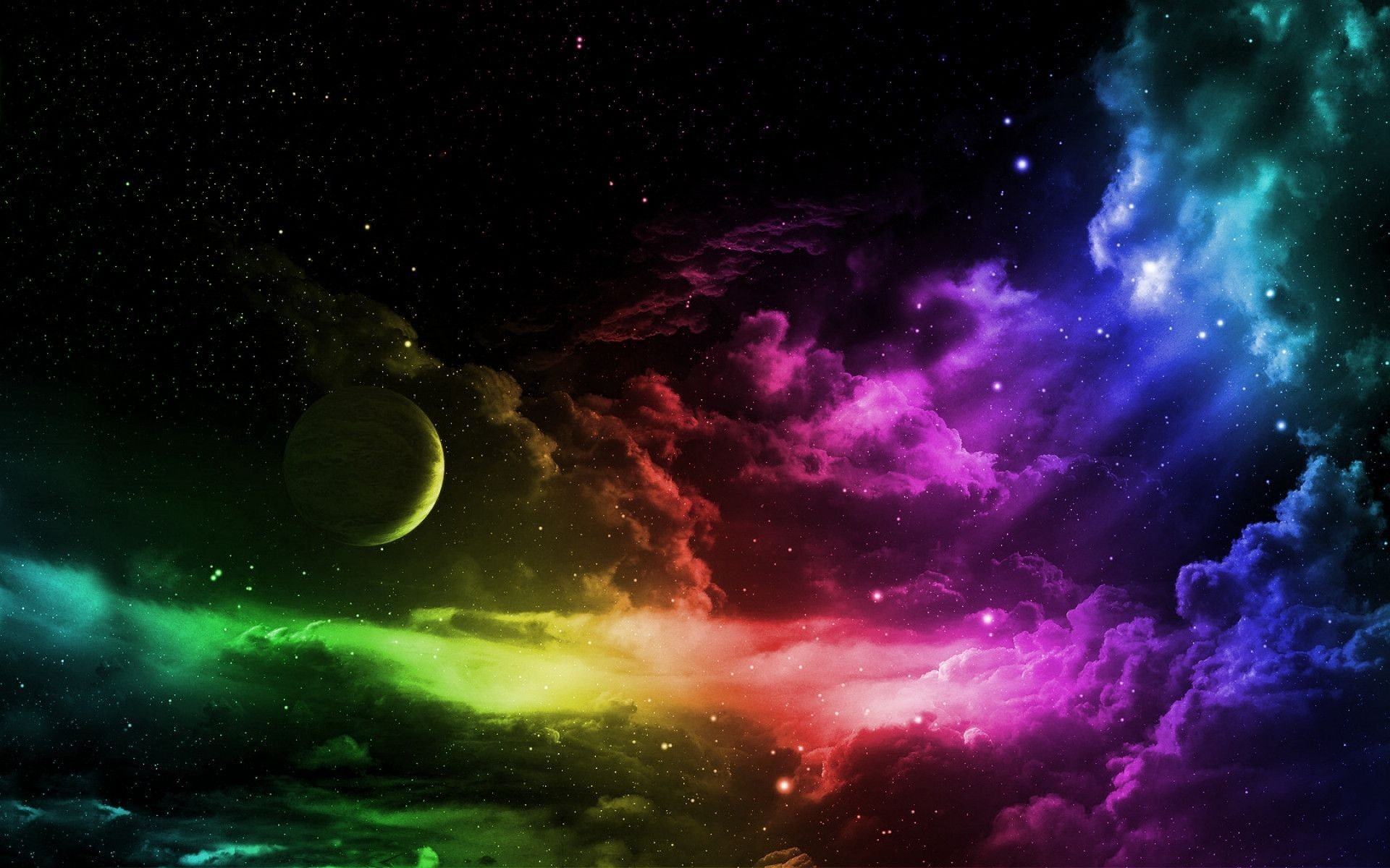 Wallpapers For > Trippy Outer Space Backgrounds