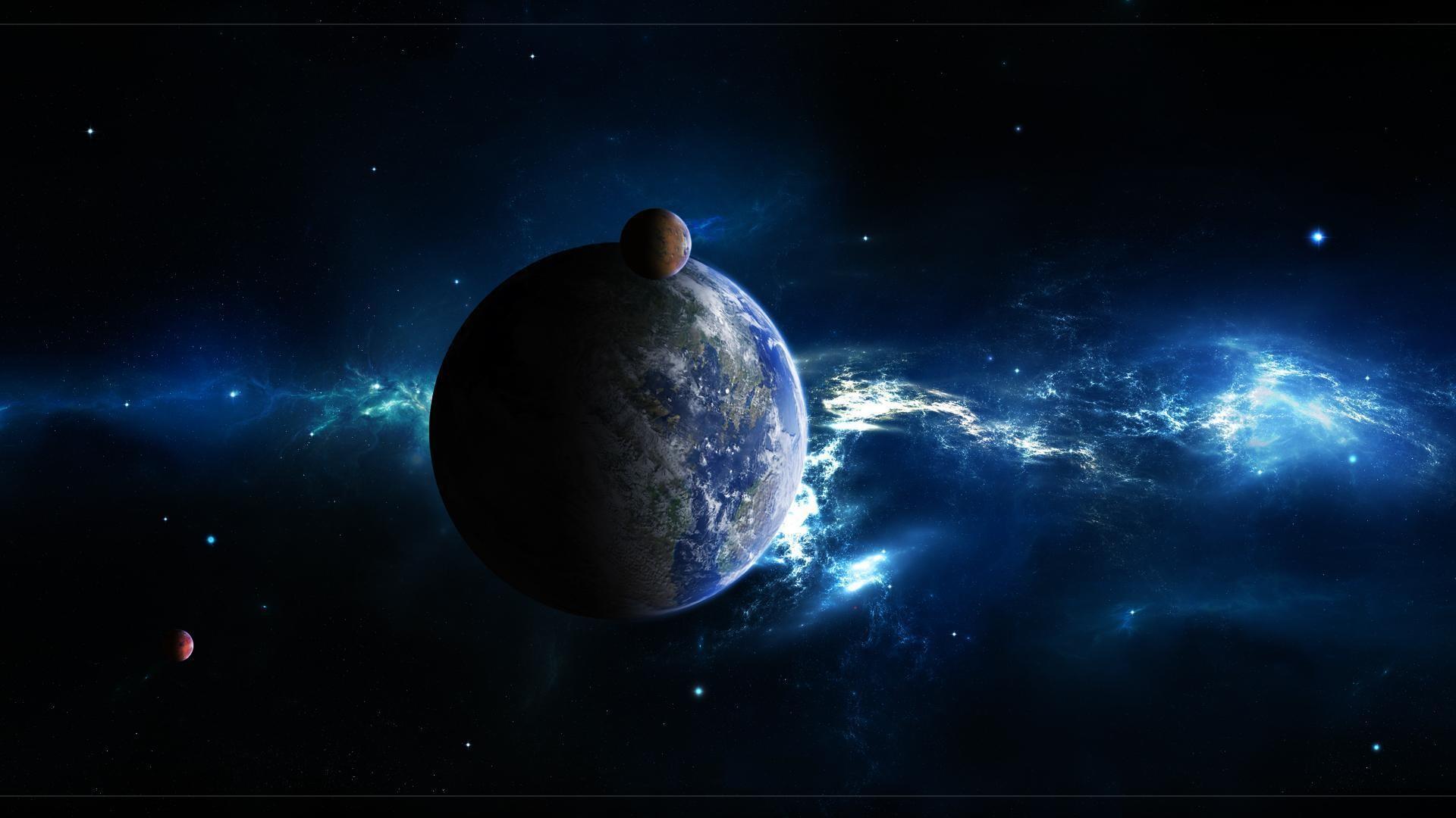 Free Outer Space Desktop Backgrounds Wallpaper | WallpaperPC
