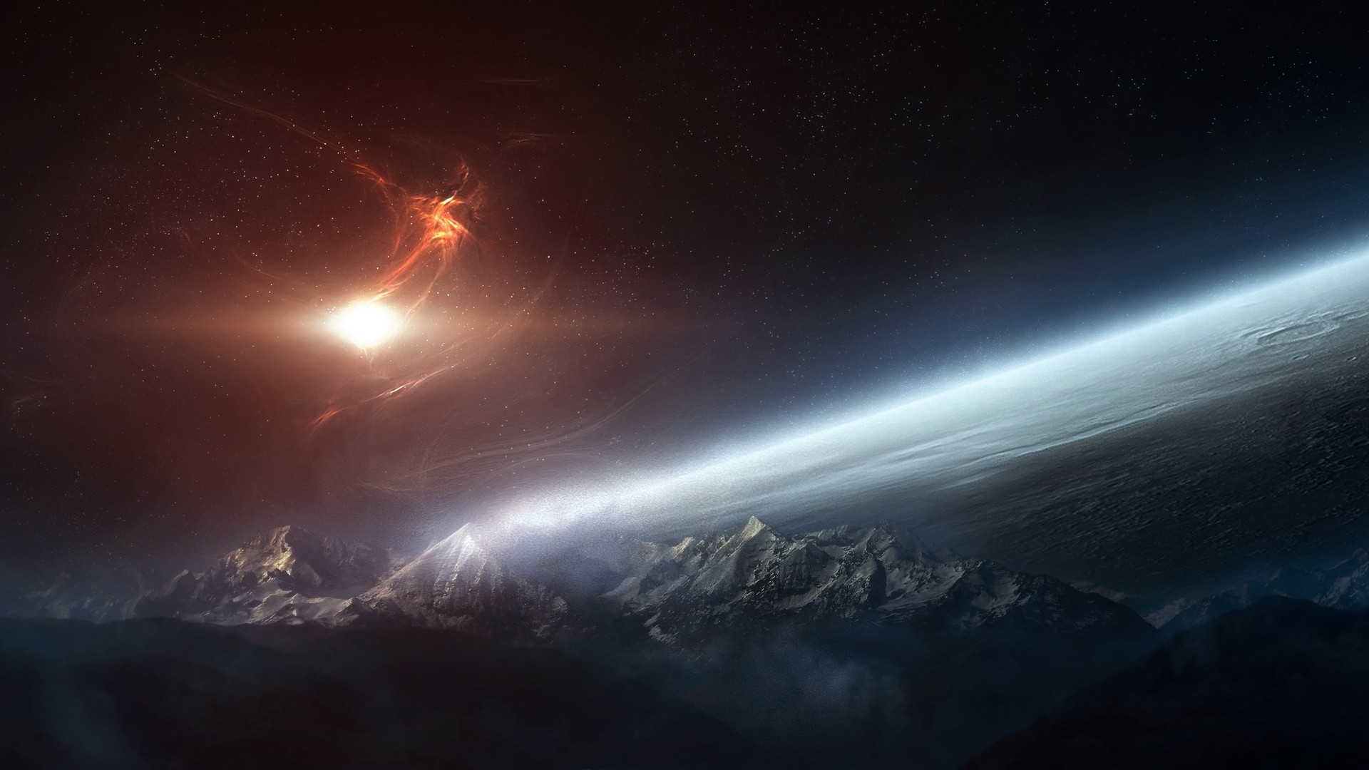 Outer Space HD Wallpaper » FullHDWpp – Full HD Wallpapers