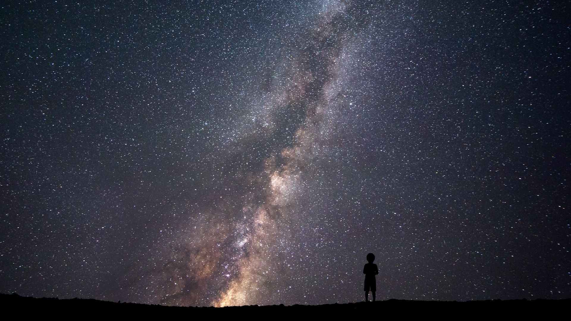 silhouette, Space, Stars Wallpapers HD / Desktop and Mobile Backgrounds