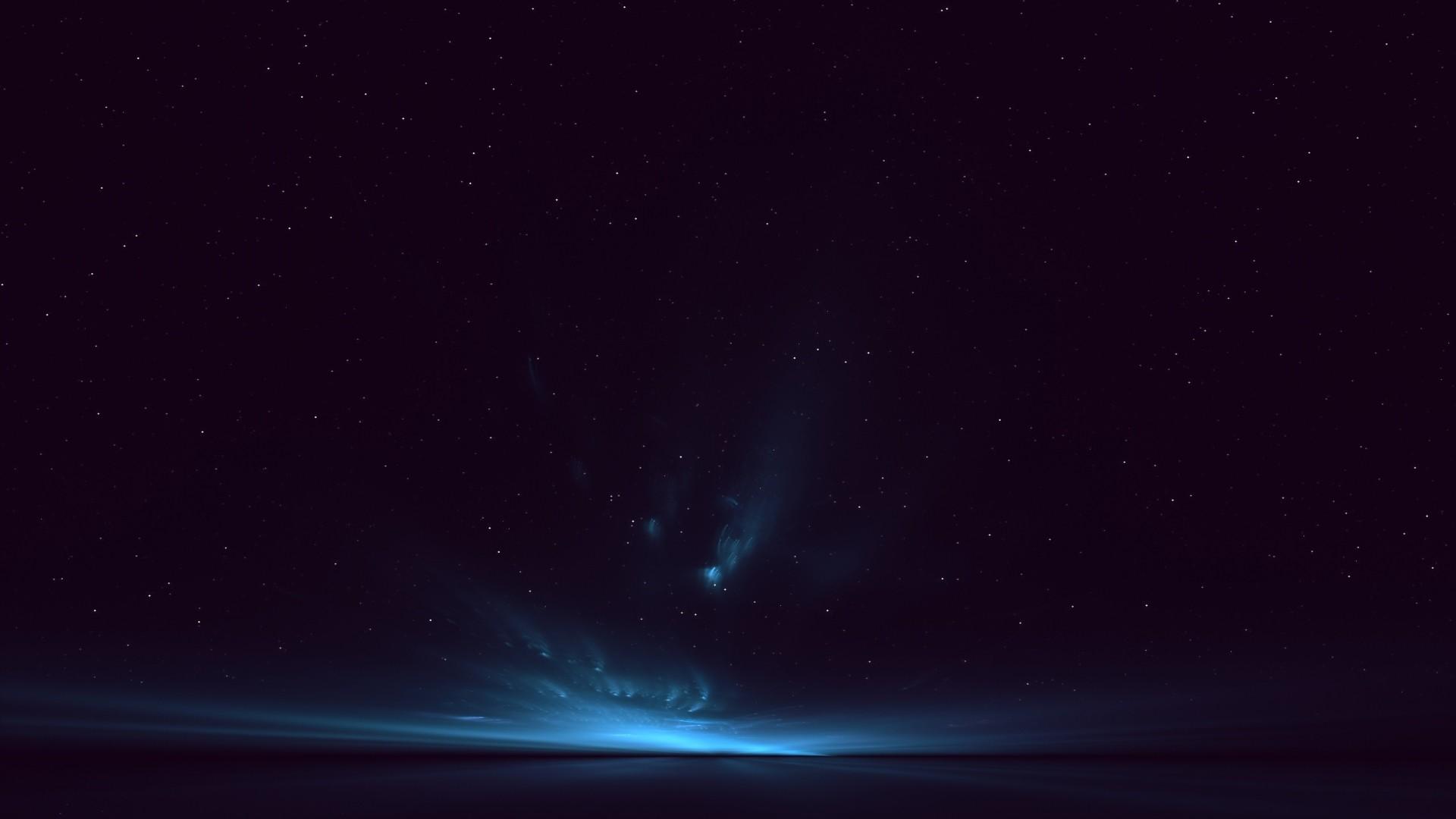Wallpaper light, sky, stars, background