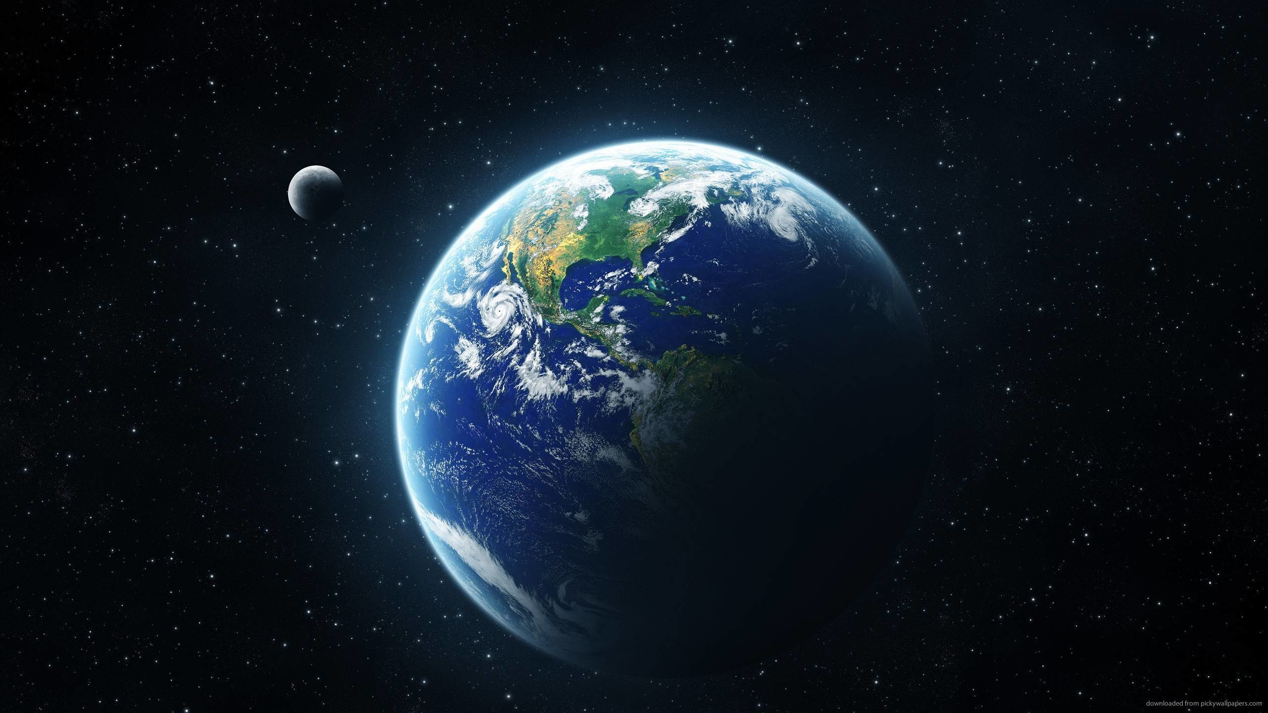 Earth From Space for 2560×1440