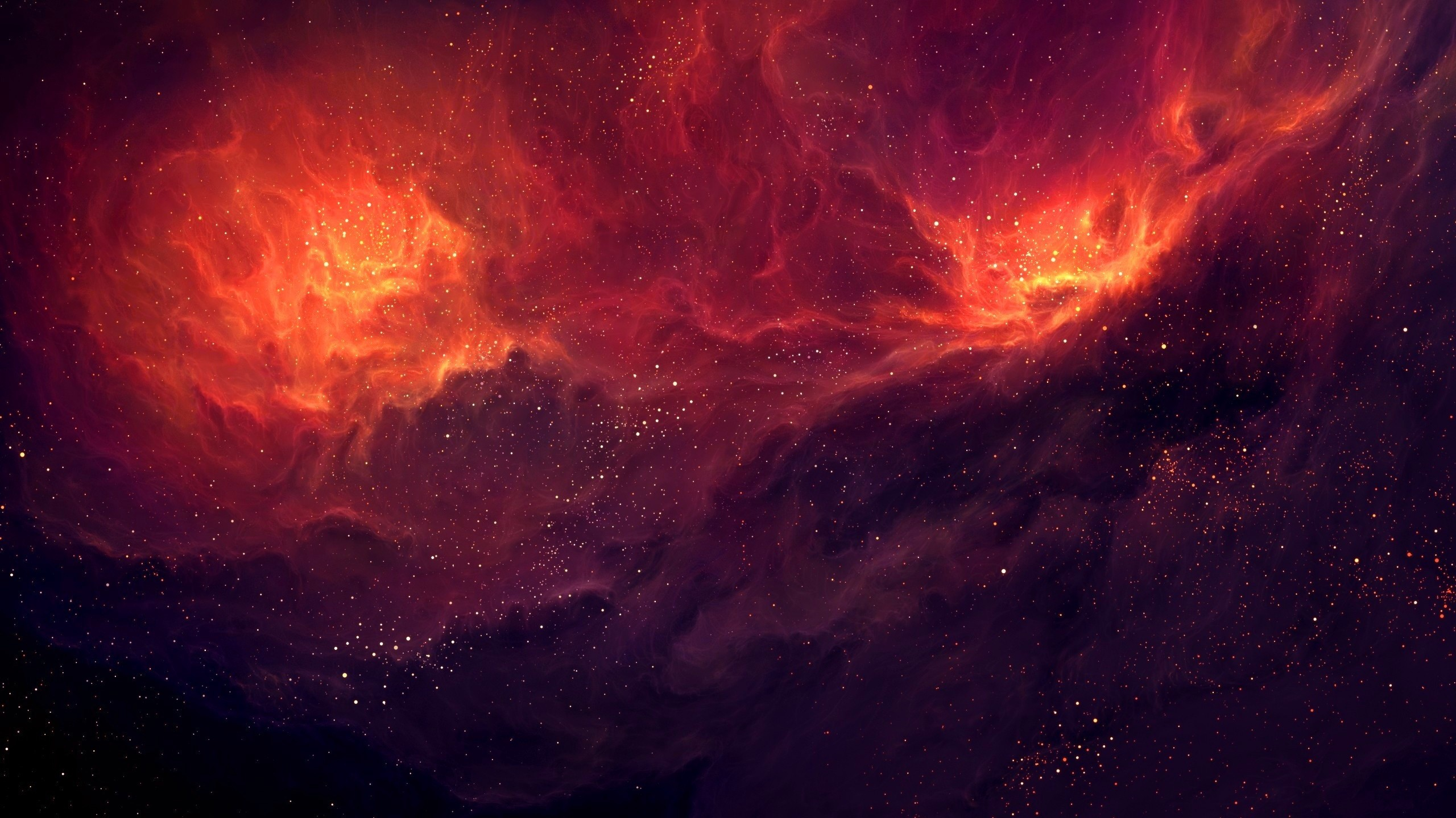 Space Stars Clouds