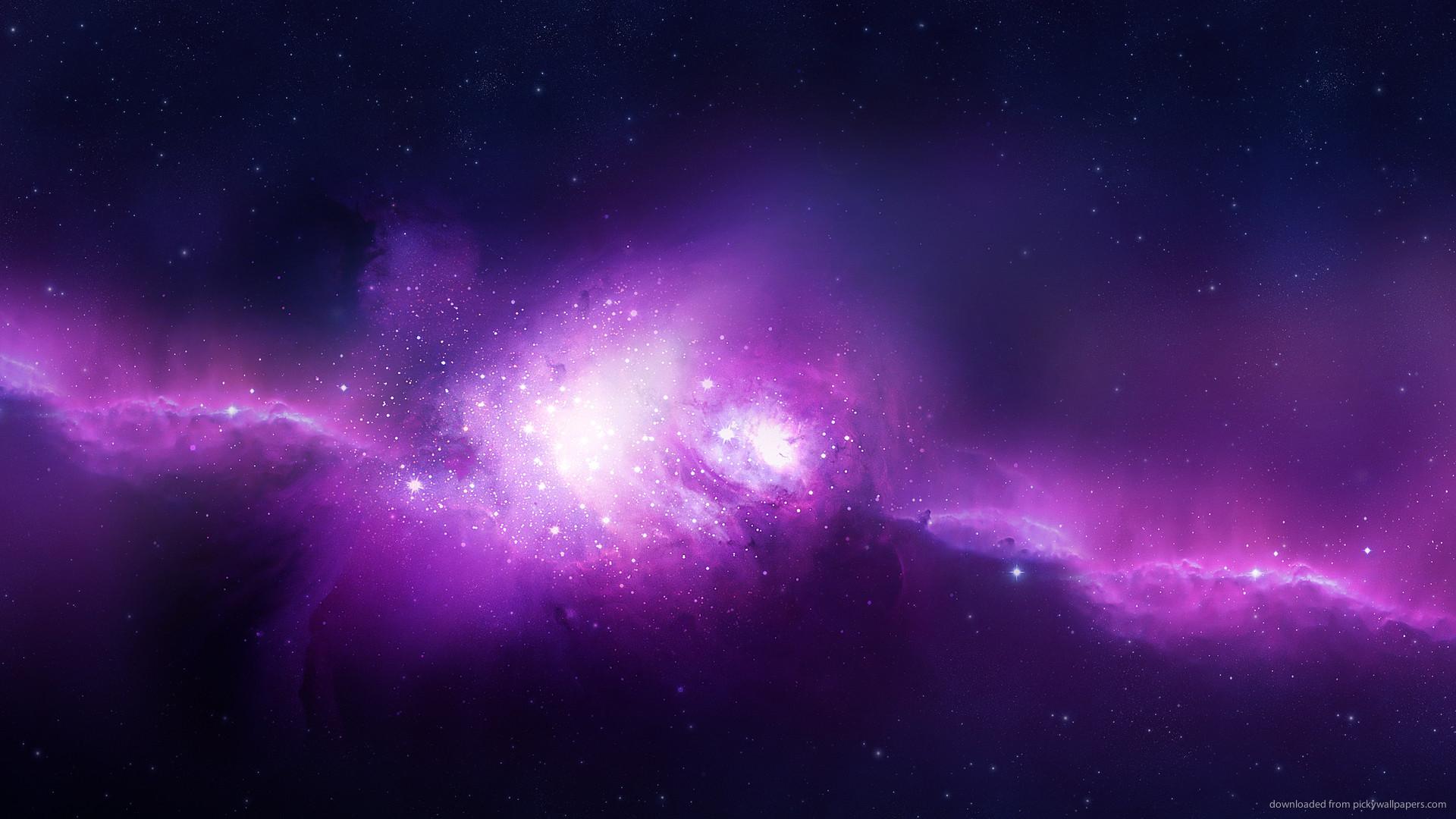 2560×1440 Purple Space wallpaper