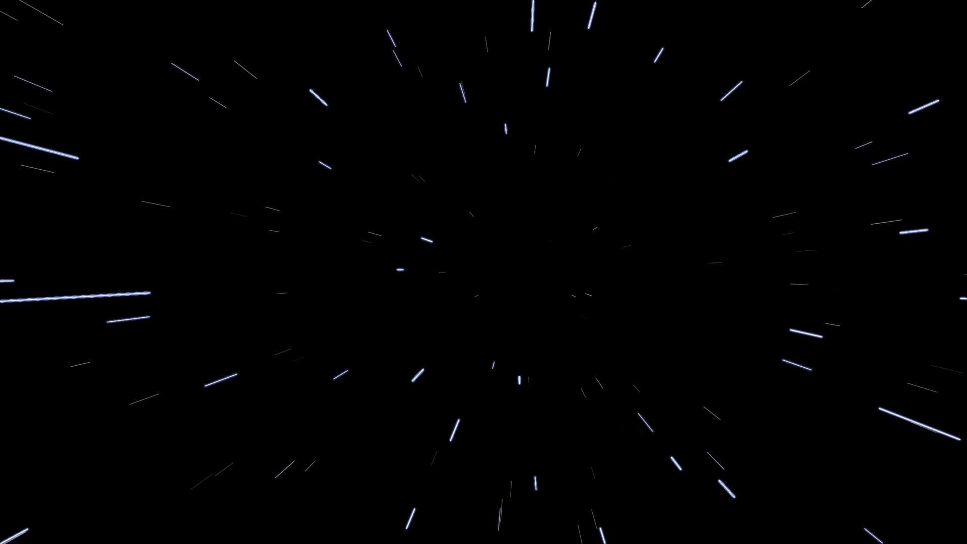 Space Warp Speed Effect Background HD