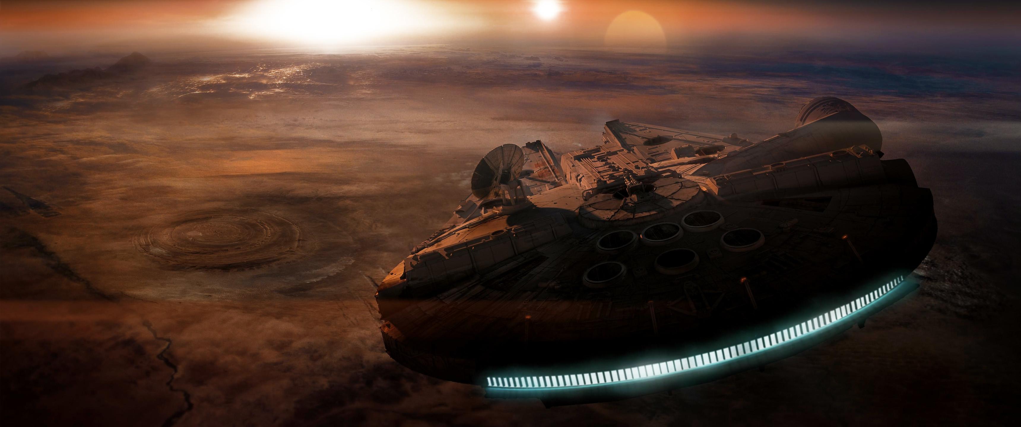 Star Wars ultra widescreen backgrounds