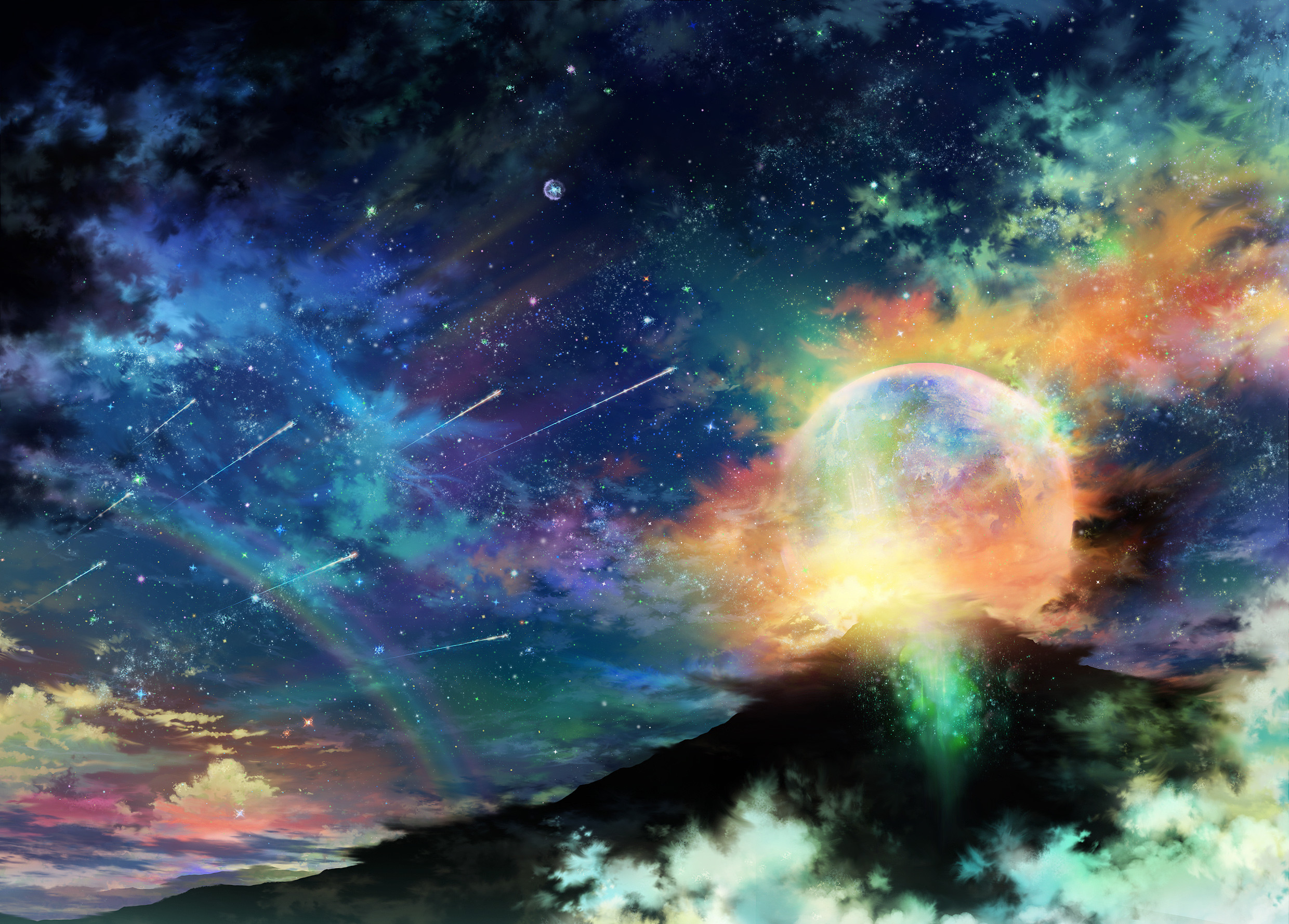 Awesome 2K-5K RESOLUTION SPACE WALLPAPERS