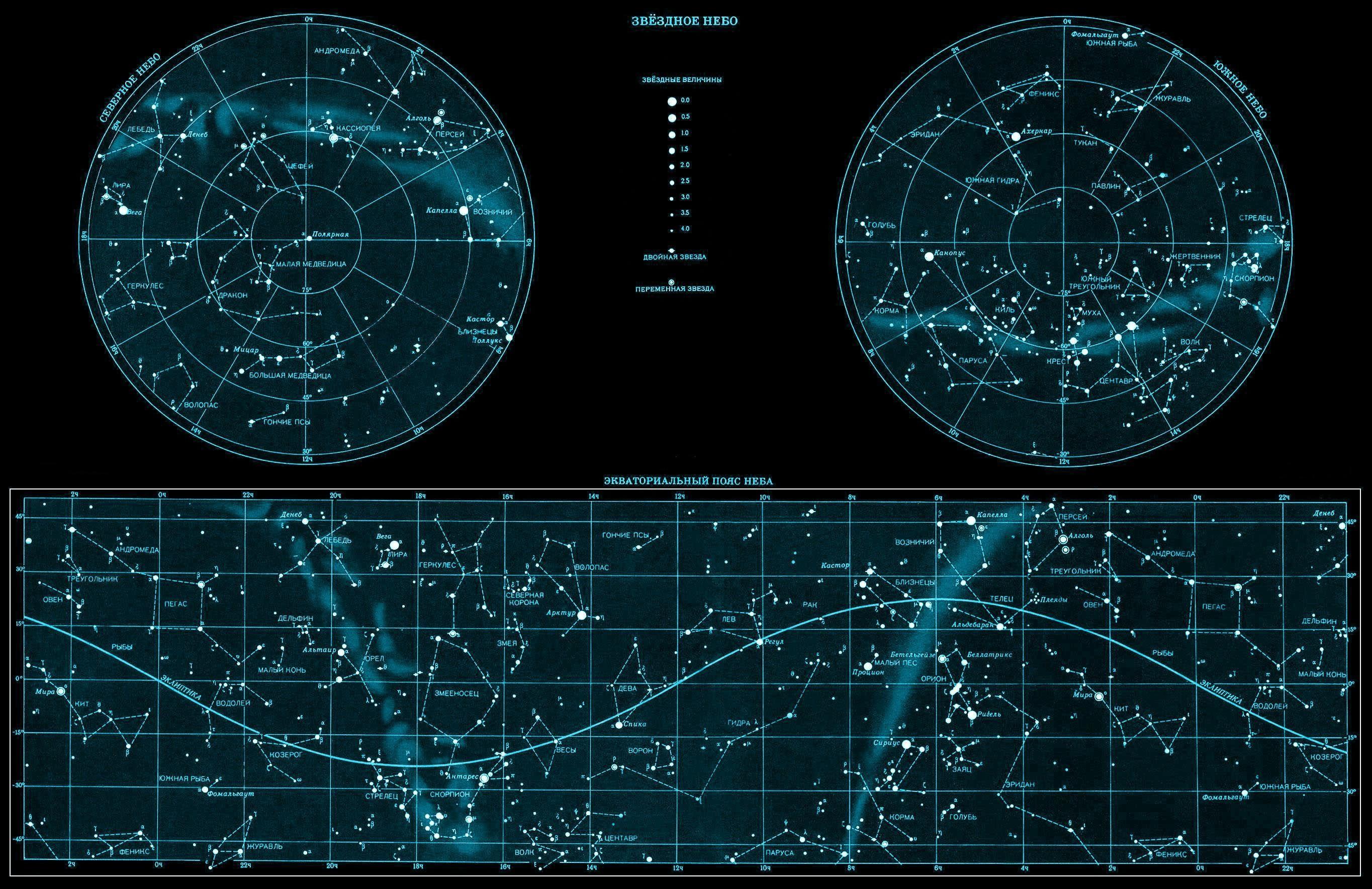 Stars Space Sky Map Phone wallpaper thumb