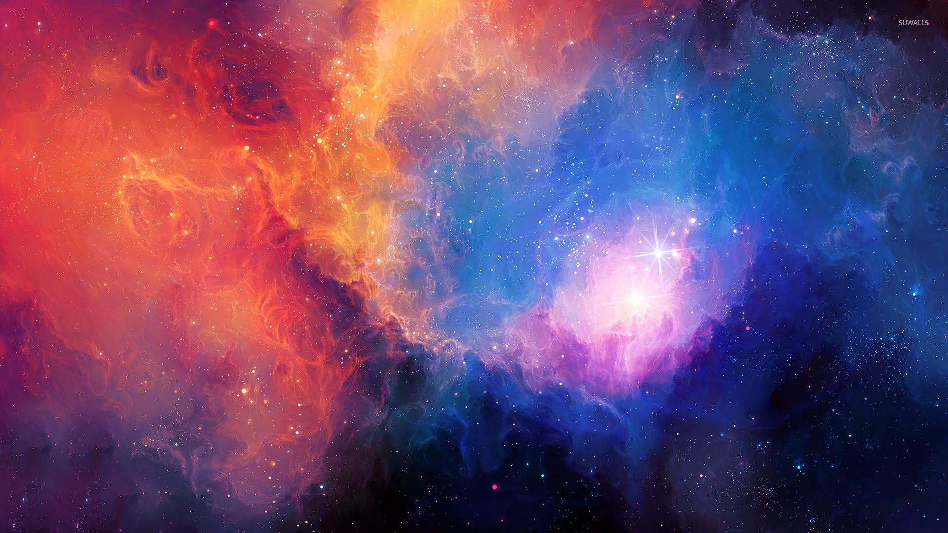 Colorful nebula wallpaper jpg