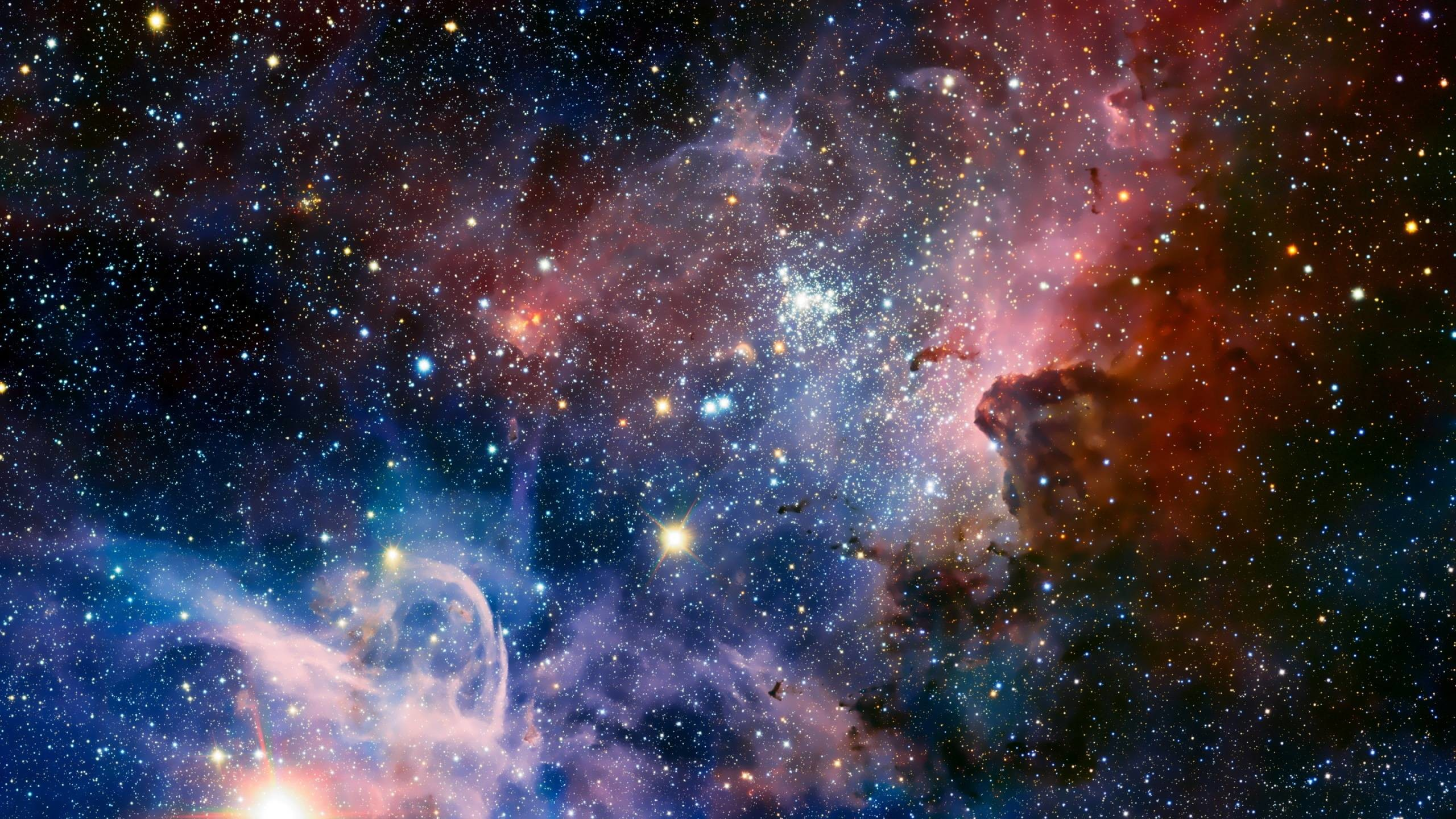 Wallpapers For > Cool Backgrounds Of Space With Stars