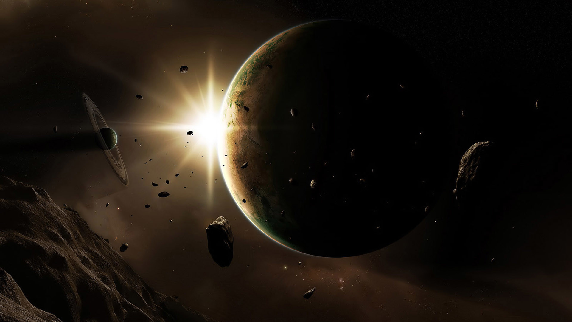 Cool Space Wallpaper 1717