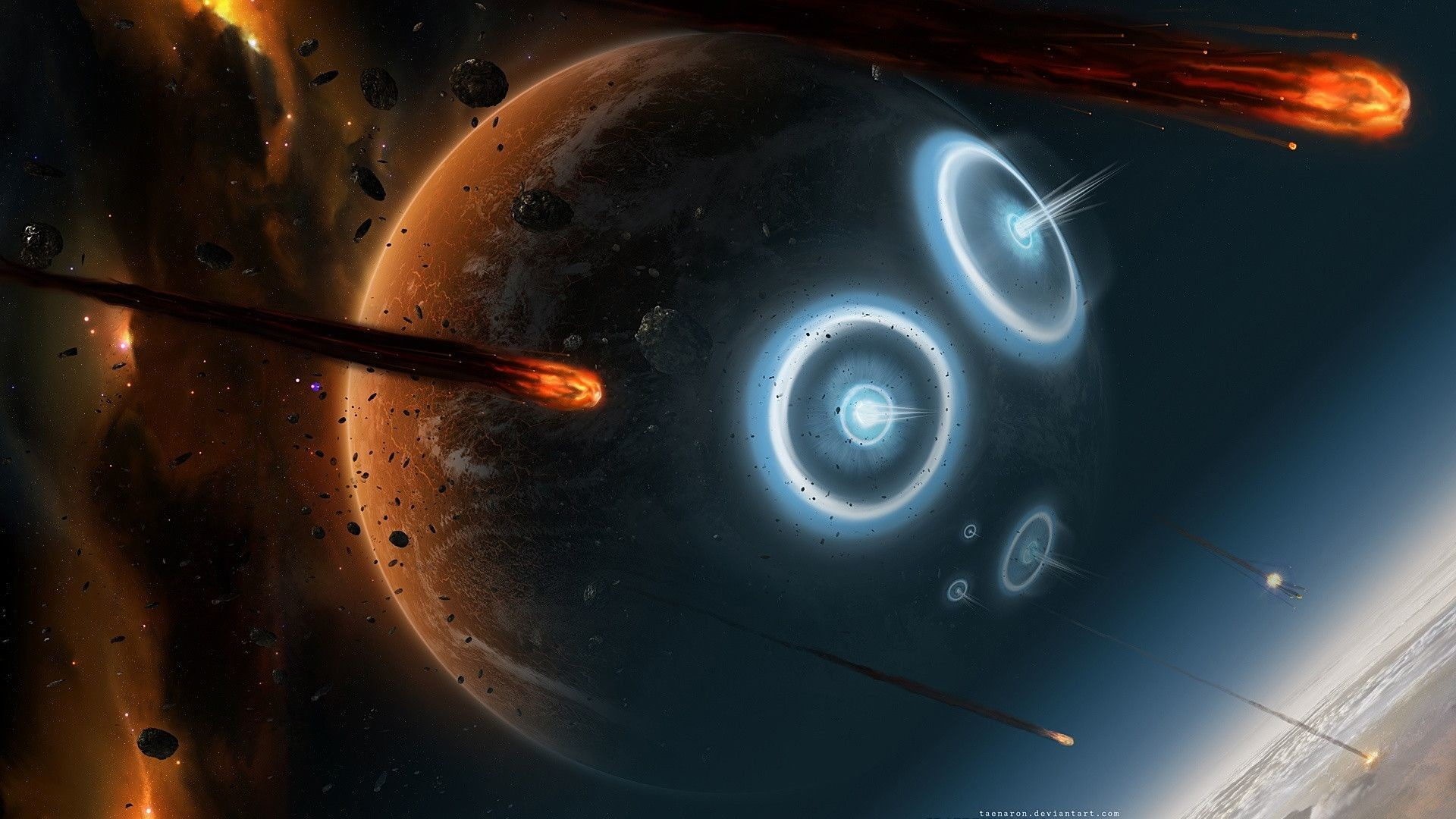 cool space wallpapers hd 4F