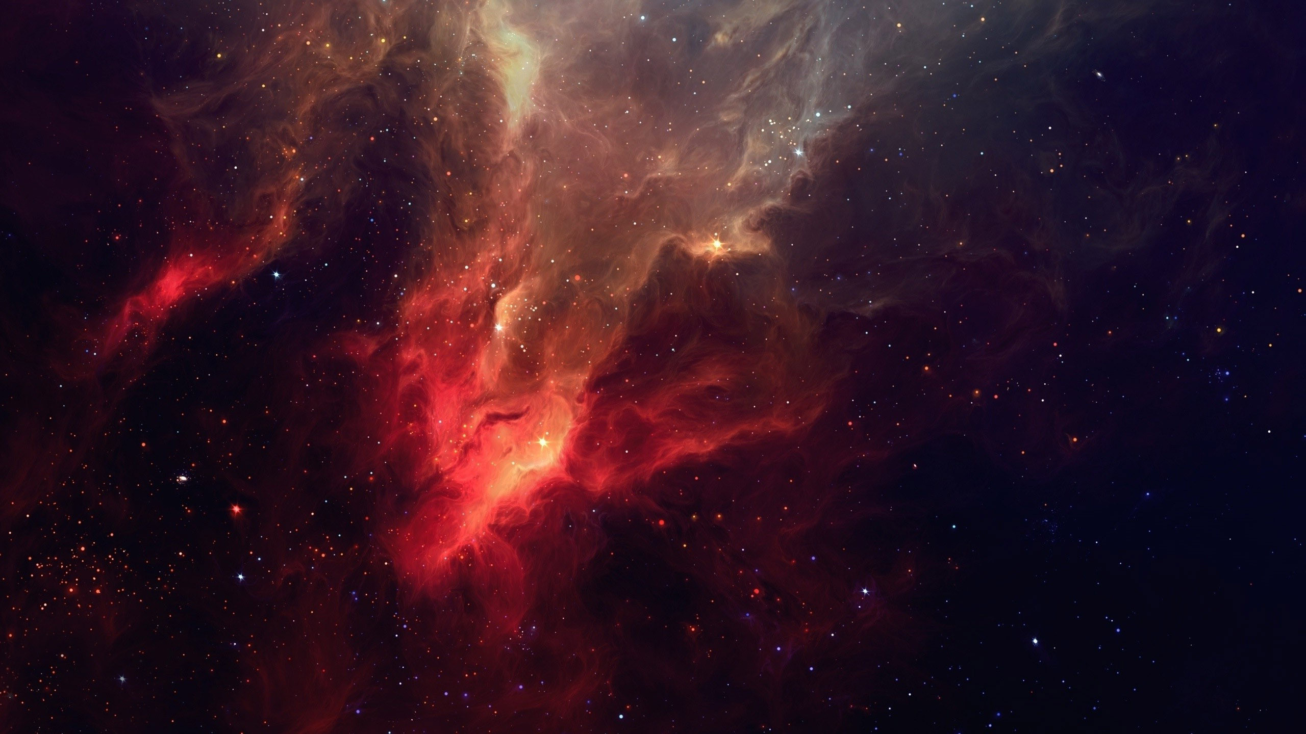 Red Space Wallpaper (35 Wallpapers)