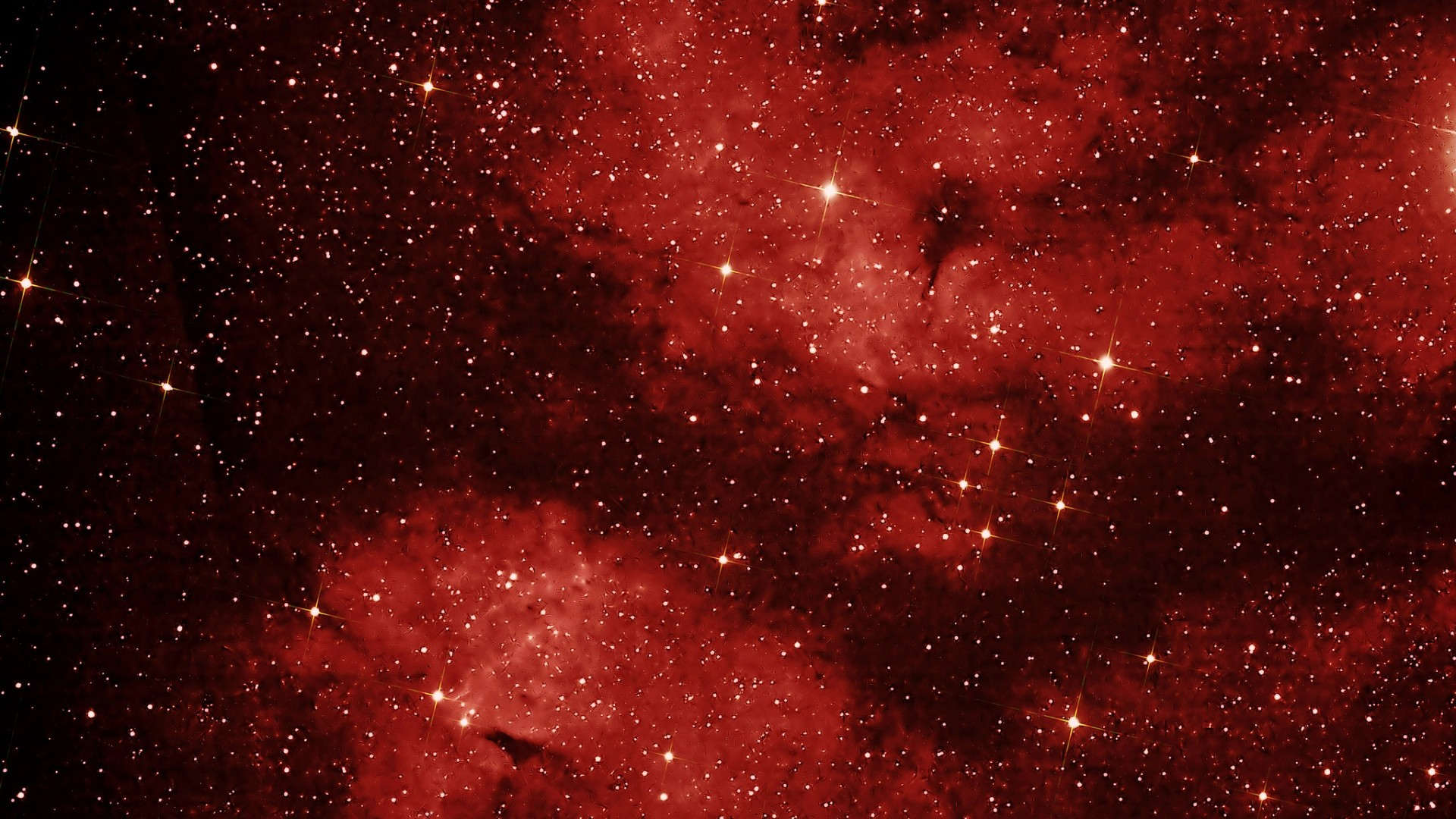 Preview wallpaper swan, lbn 274, space, sky, nebula, constellation 1920×1080