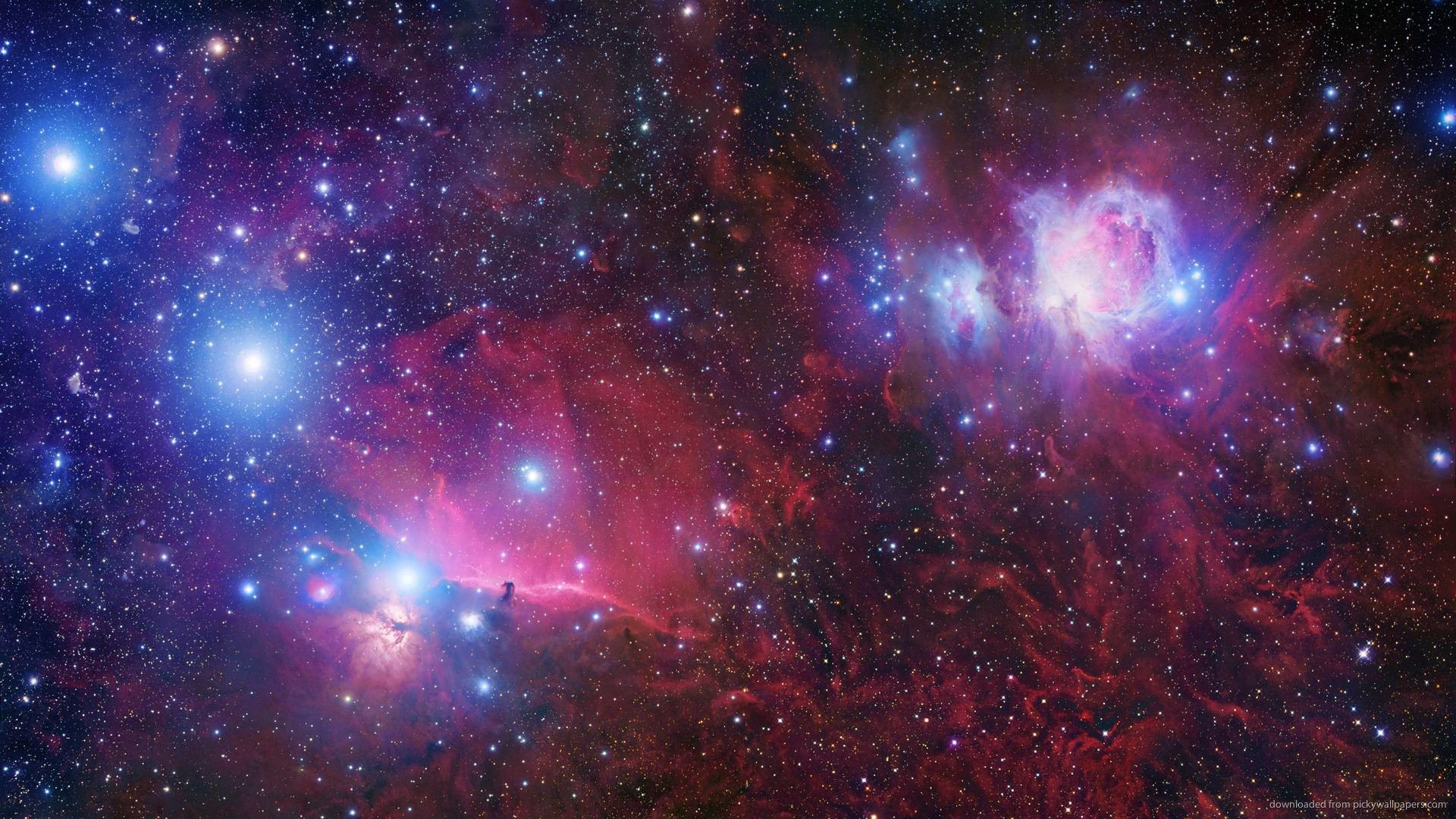 Download Red Space Wallpaper