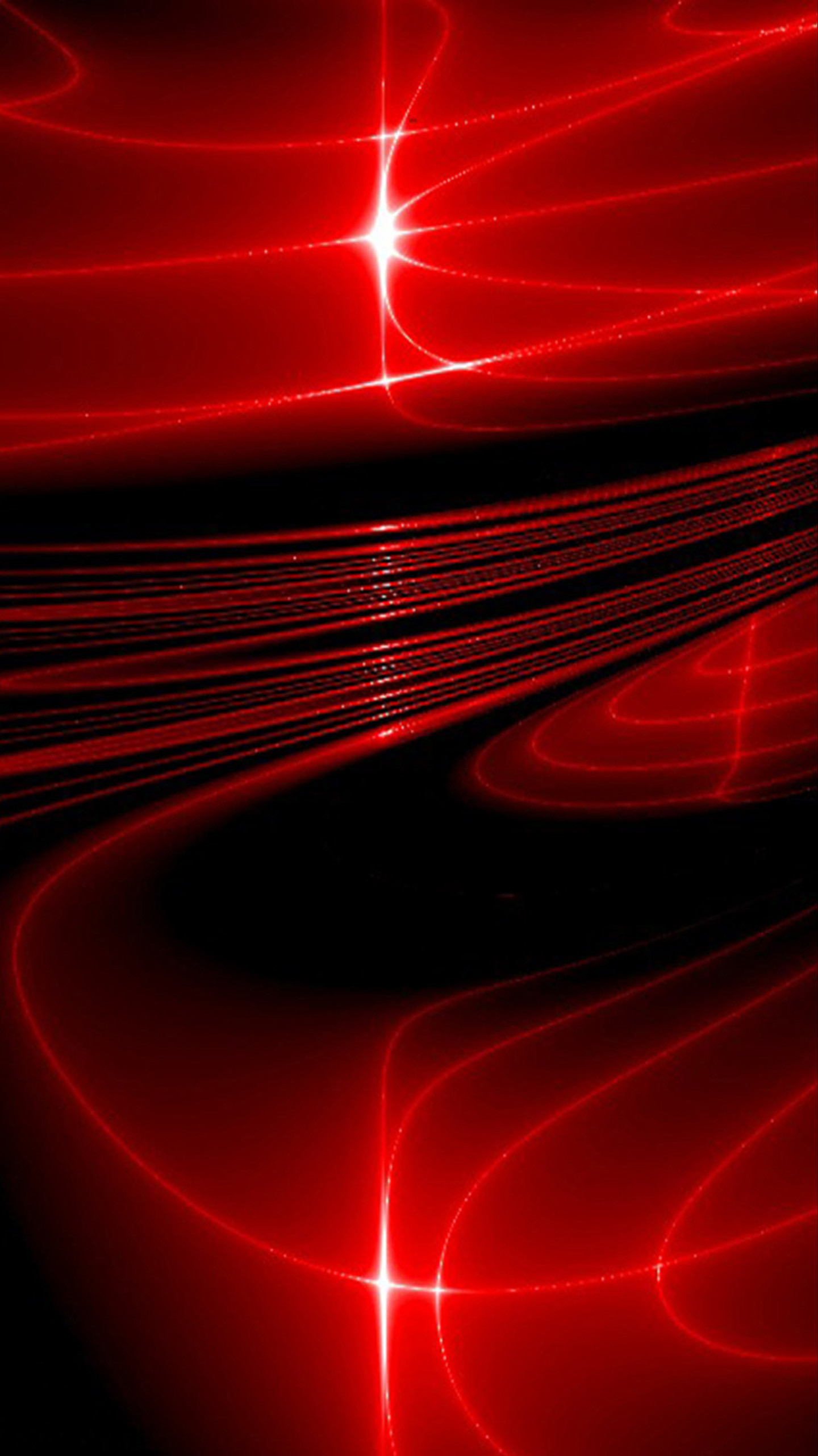 awesome Galaxy Red Stars Red Space Wallpapers