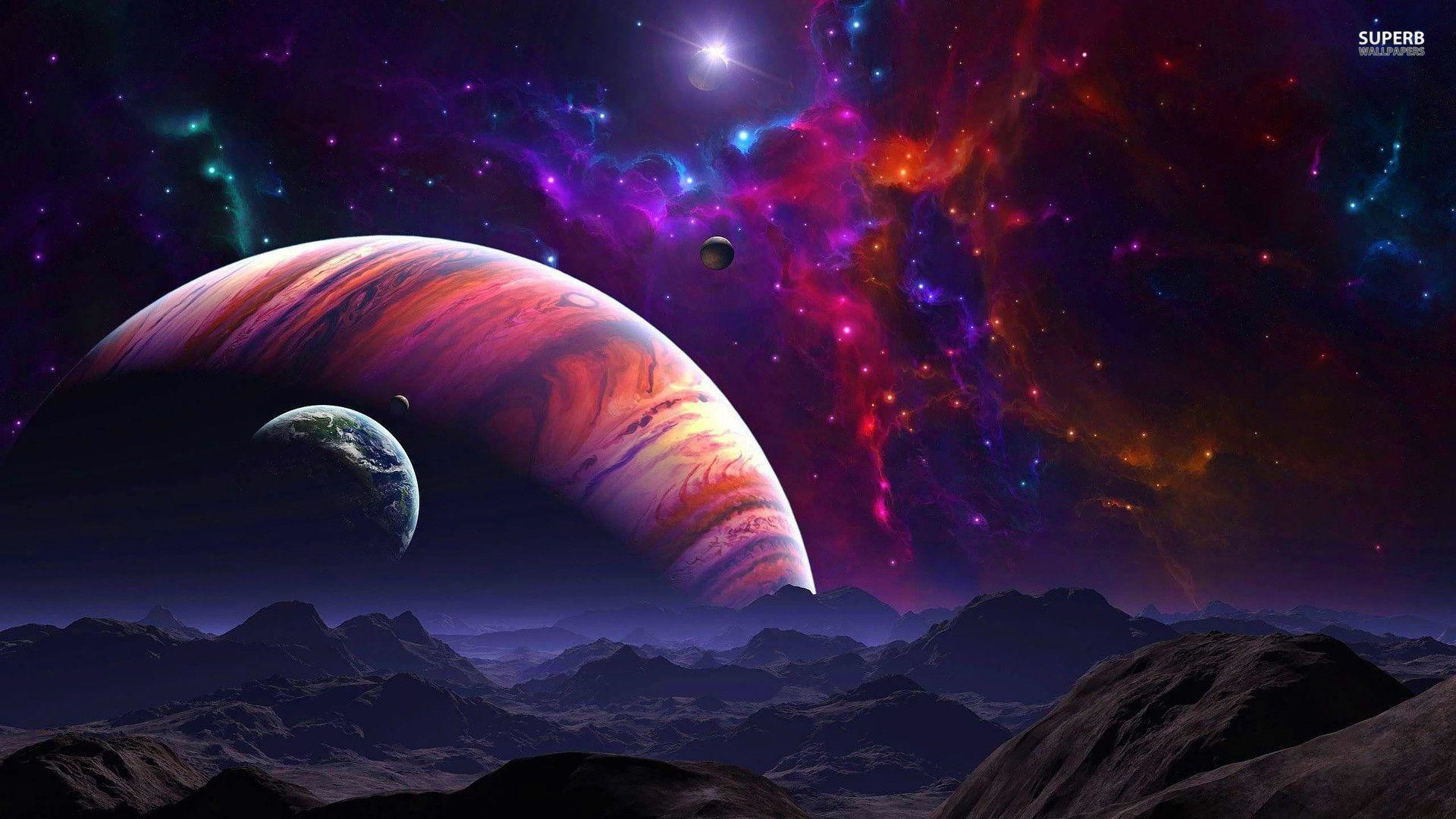 Purple Space Wallpaper Pictures 5 HD Wallpapers   lzamgs.
