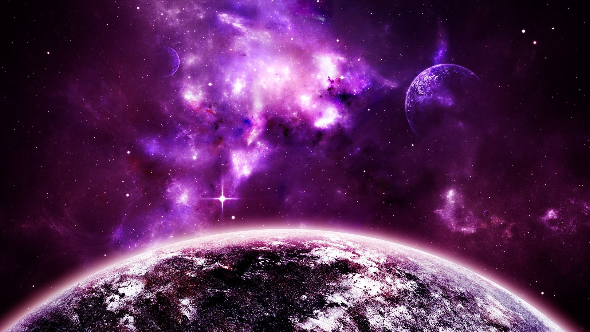 Purple Space 899951