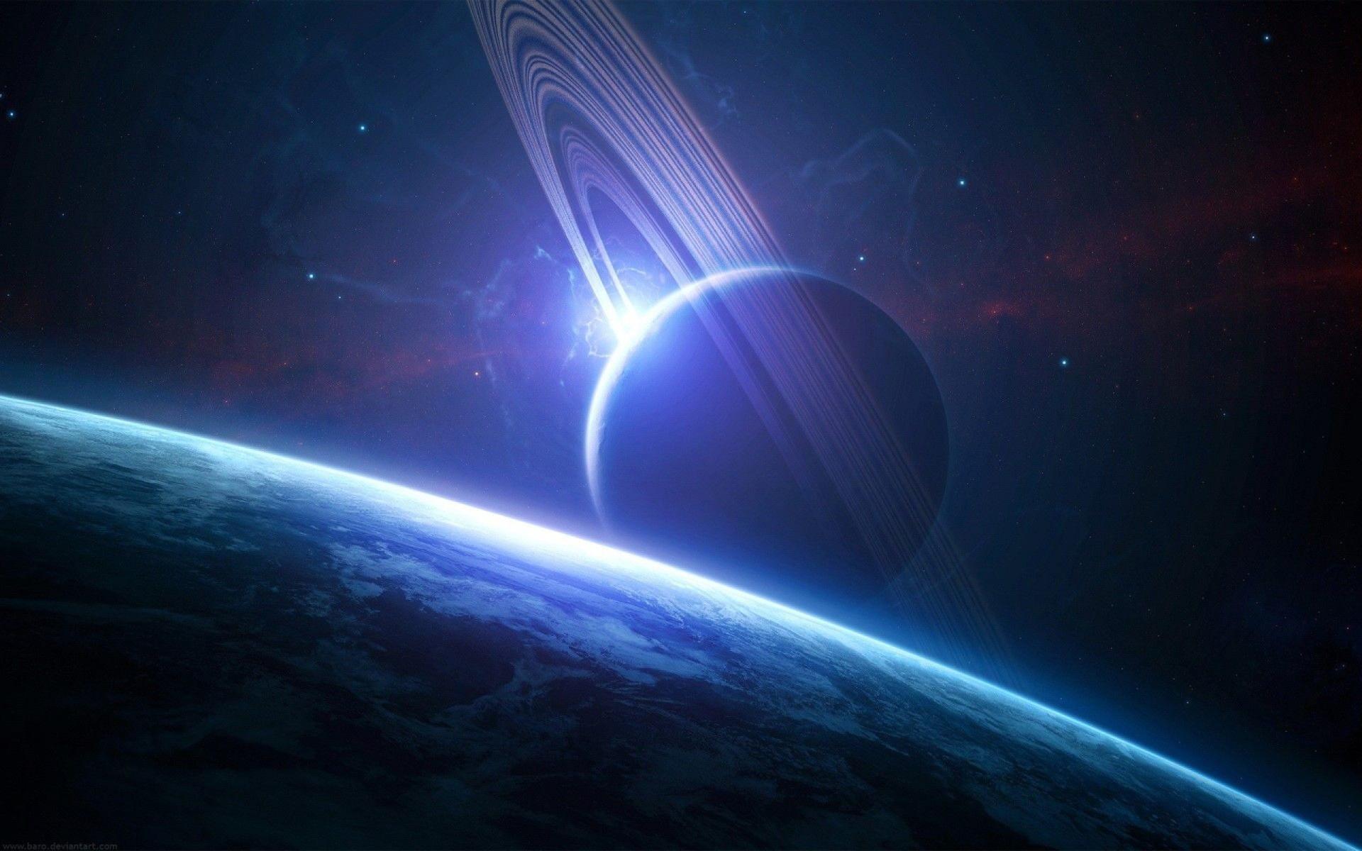 Planet Space HD Wallpaper
