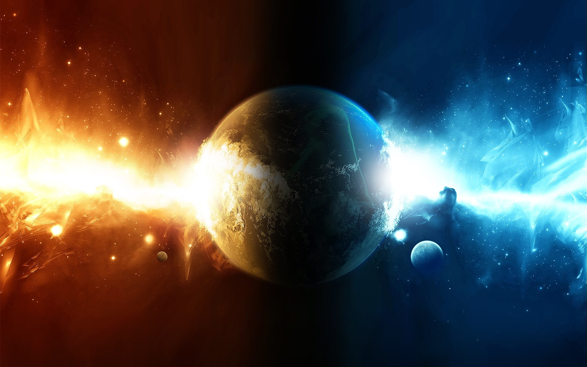 Explosions In Space Wallpaper 484415