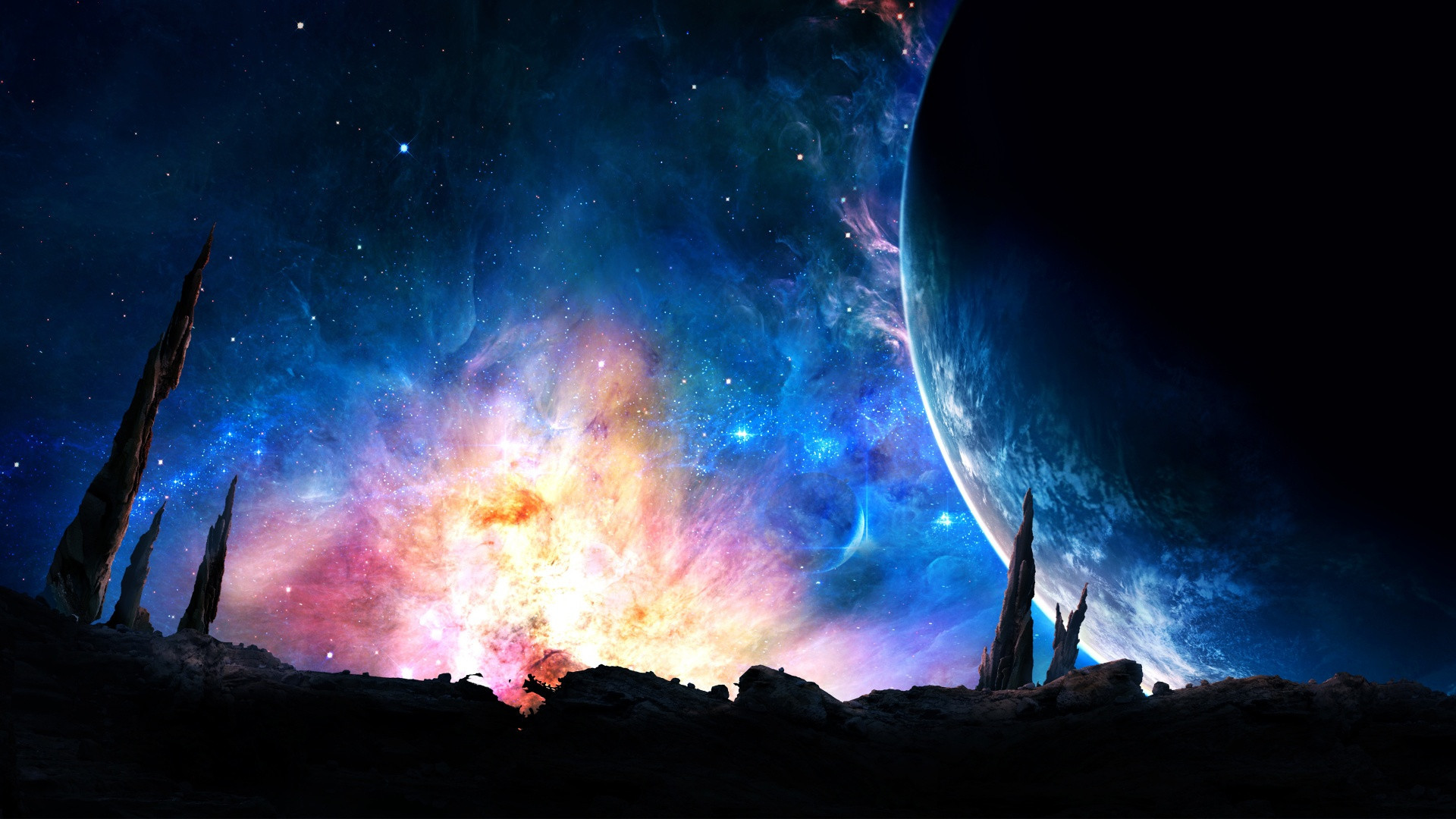 200 Seperate Nature/Space Themed Wallpapers [1920×1080] Need #iPhone #6S #