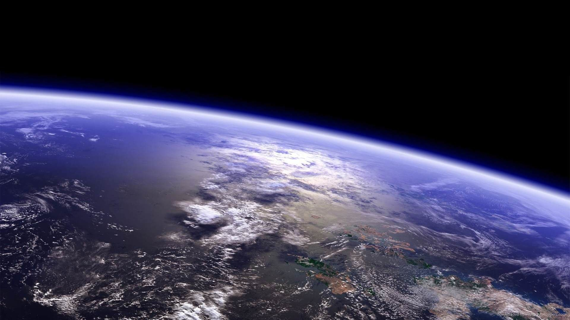 Above the Earth wallpaper