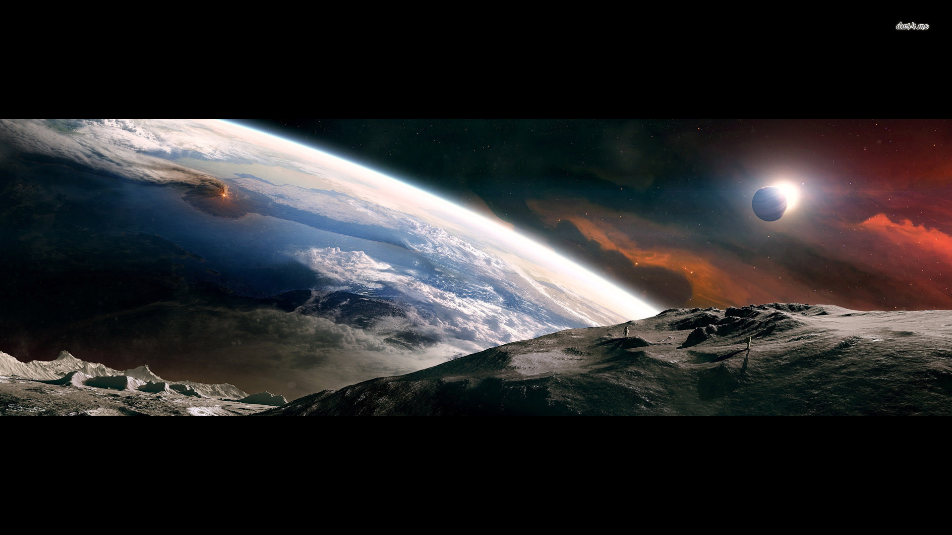 Earth From Space 27 Widescreen Wallpaper – Hivewallpaper.com