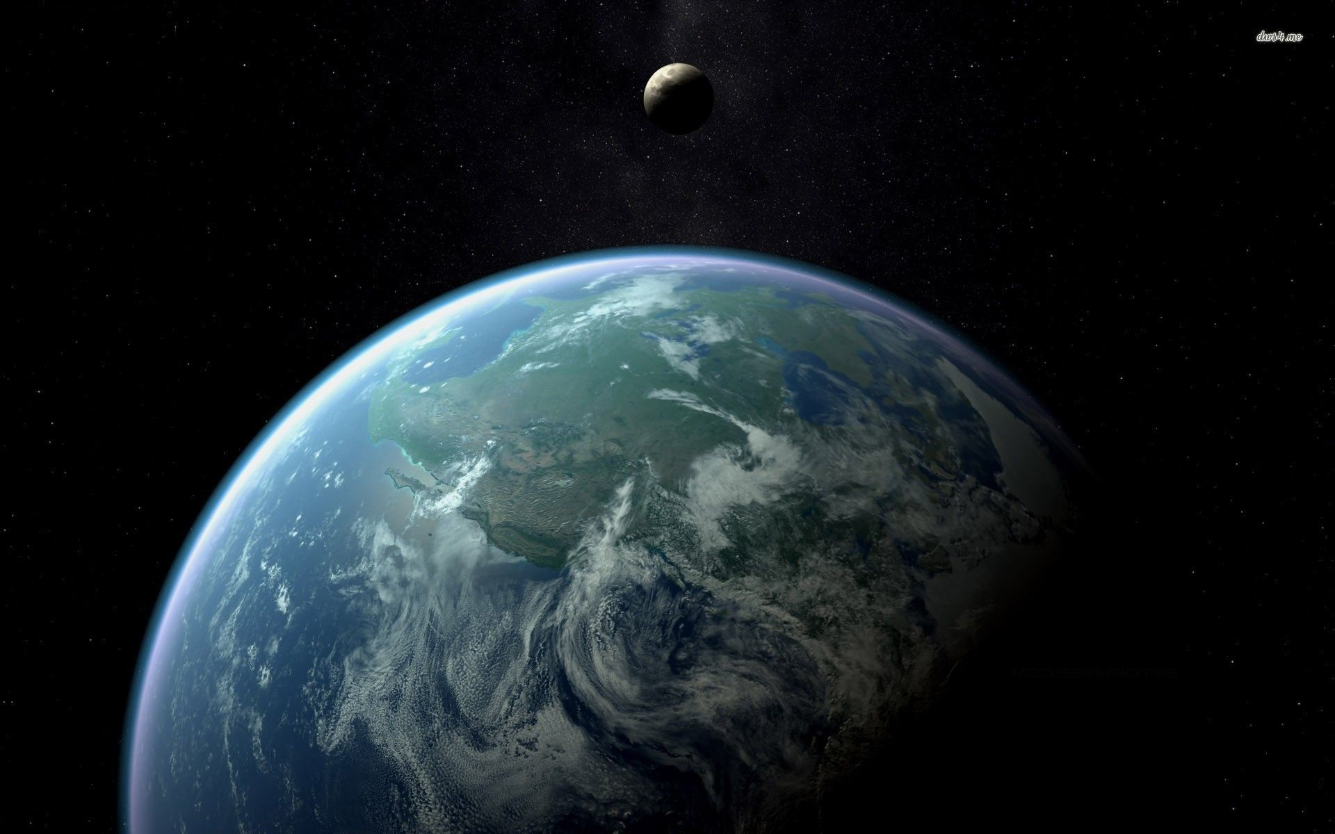 Earth Wallpapers From the Moon – Pics about space