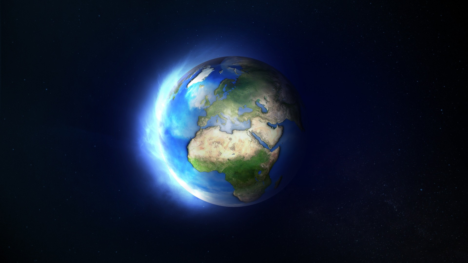 Wallpaper earth, planet, space