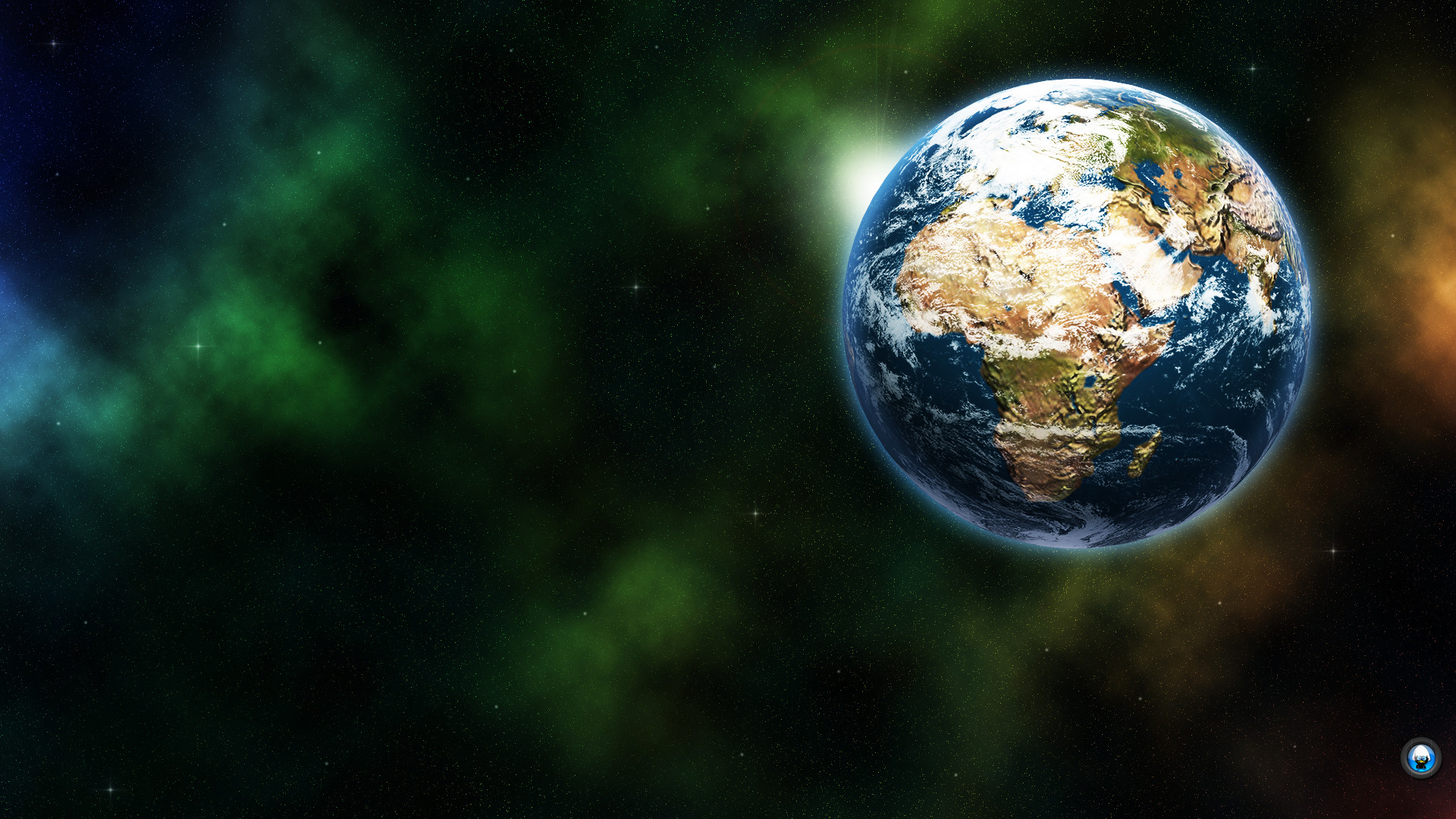 Earth From Space 1920X1080