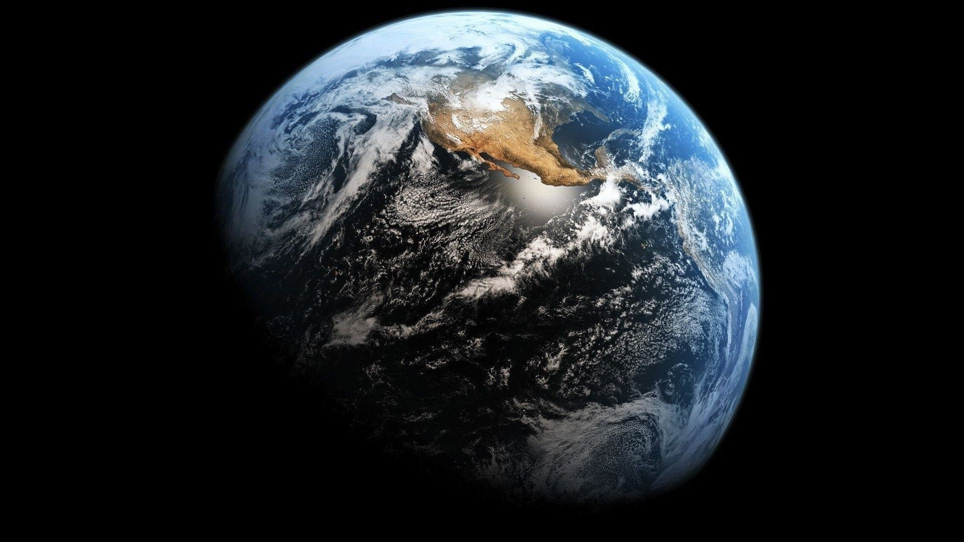 Earth desktop wallpaper – One of the Planets in our Solar System