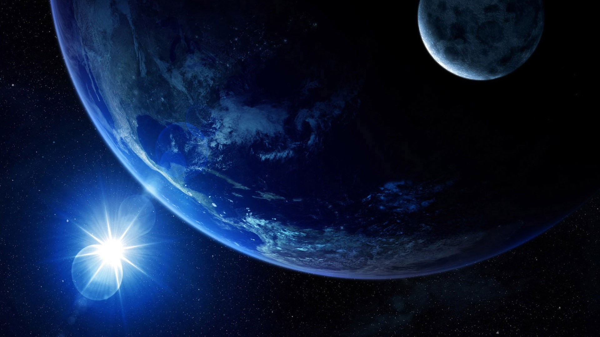 Blue Planet Earth   1920 x 1080 …