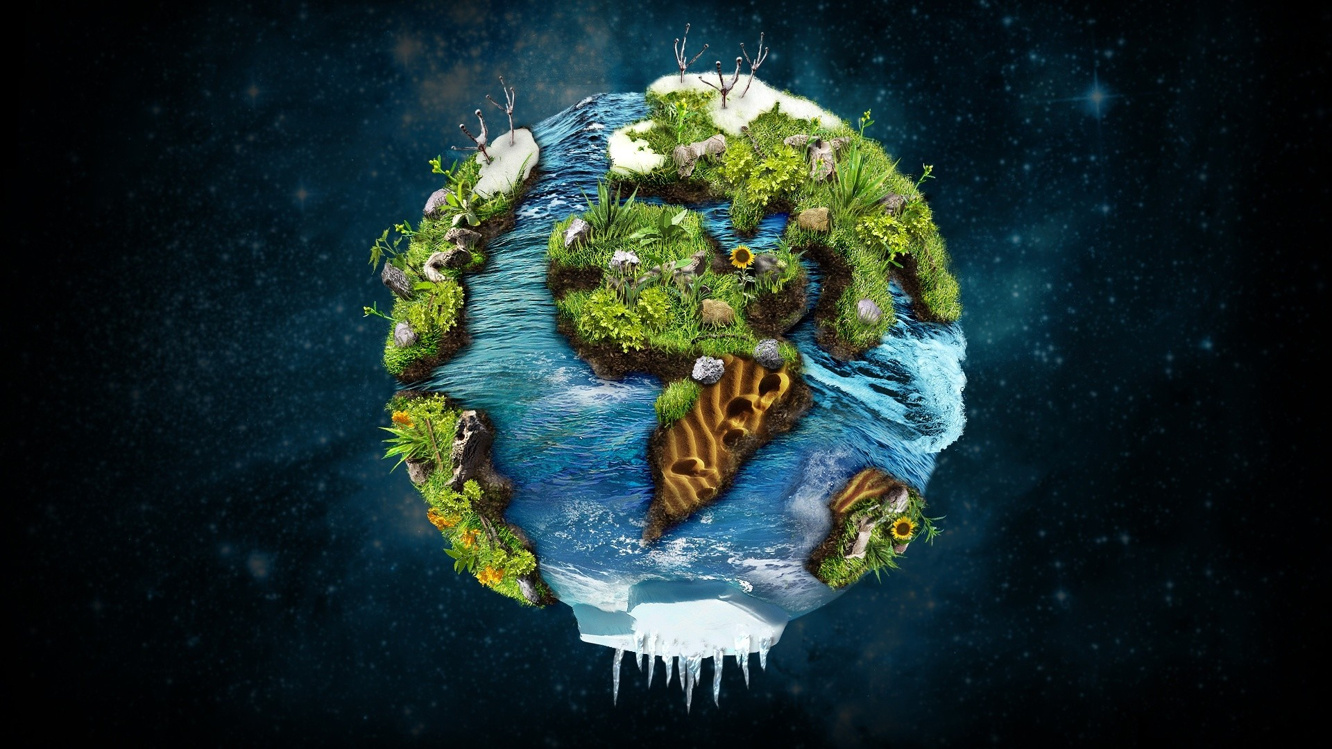Future Planet Earth Wallpapers