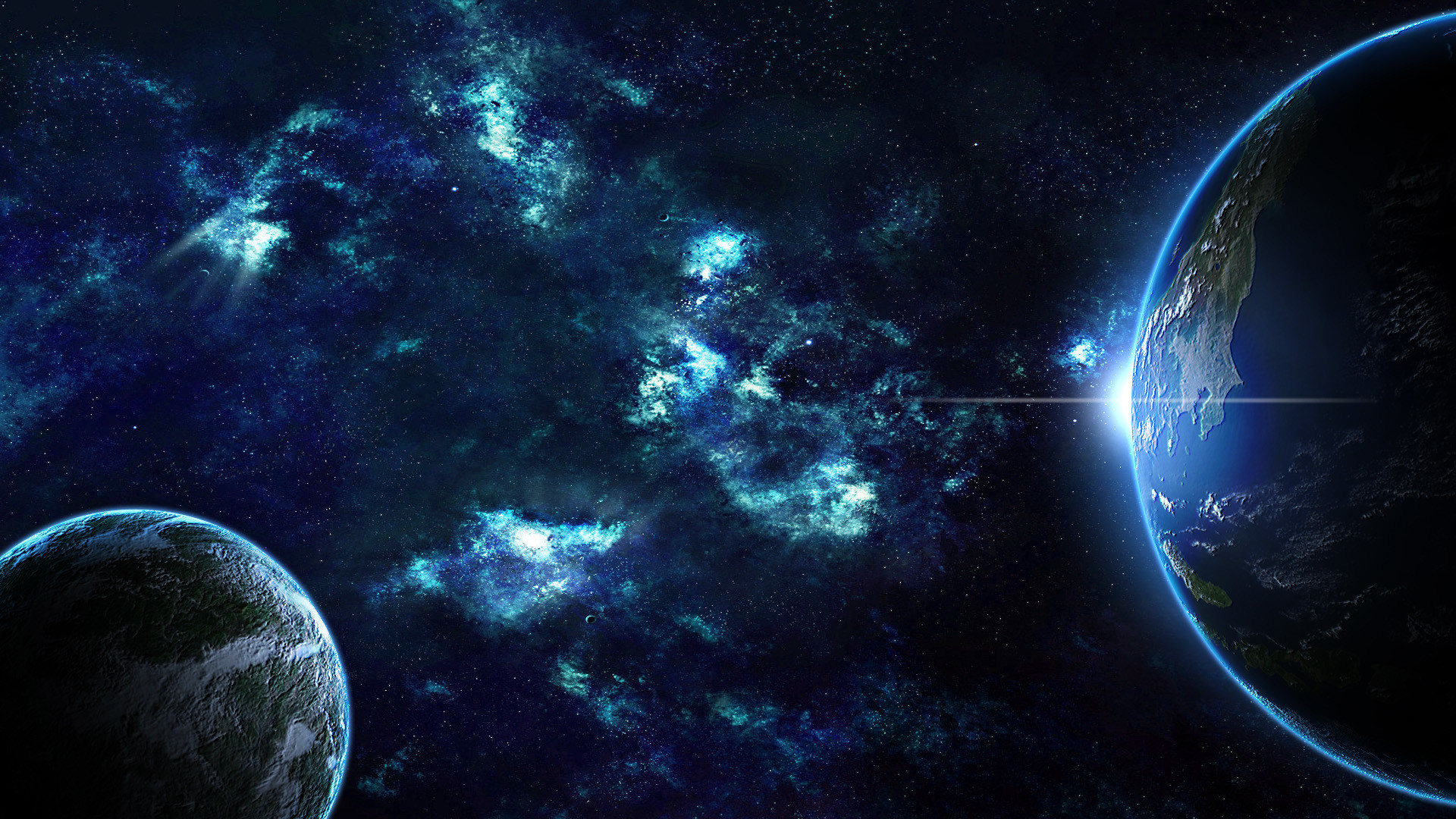 Picture Earth Planets Space 1920×1080