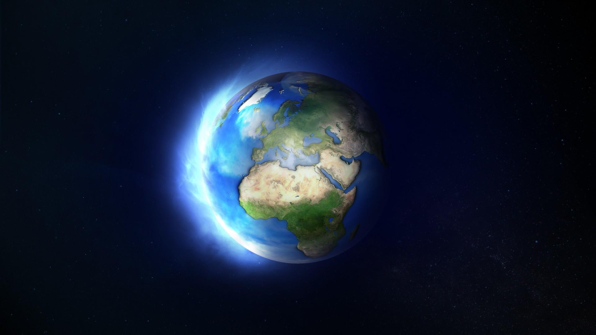Space / Earth Wallpaper